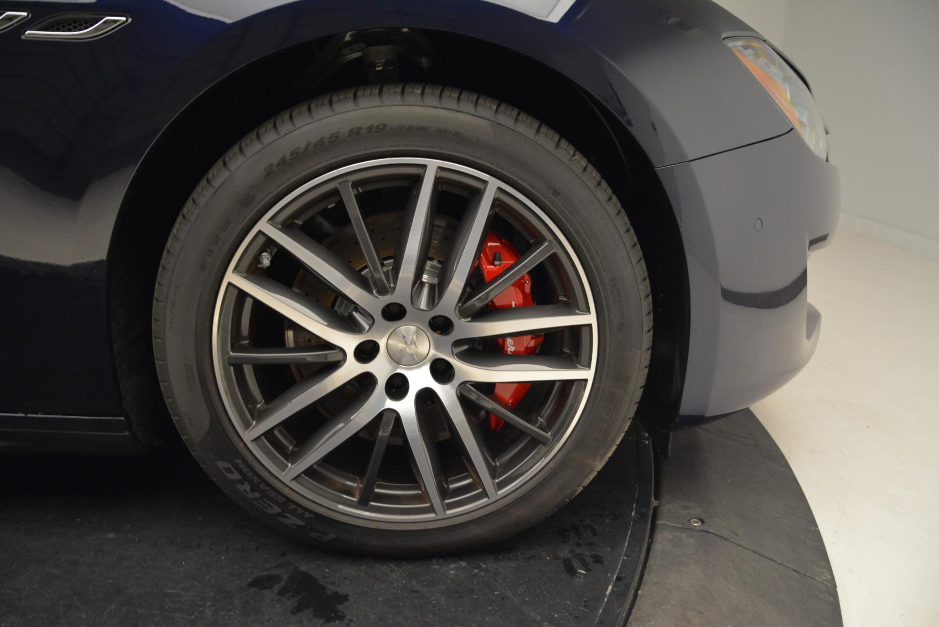 New 2018 Maserati Ghibli S Q4 For Sale In Westport, CT 1559_p27