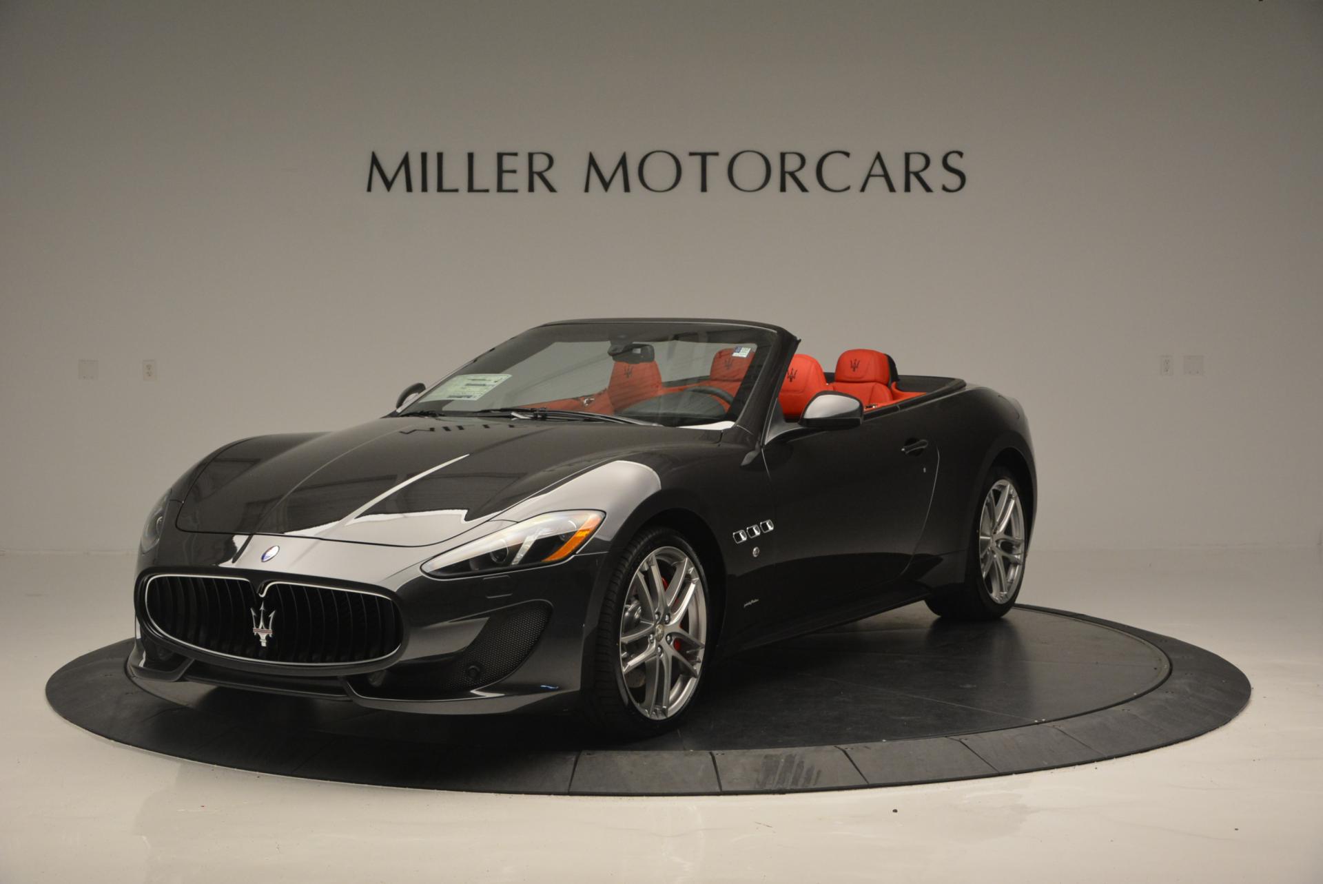 New 2017 Maserati GranTurismo Convertible Sport For Sale In Westport, CT 156_main