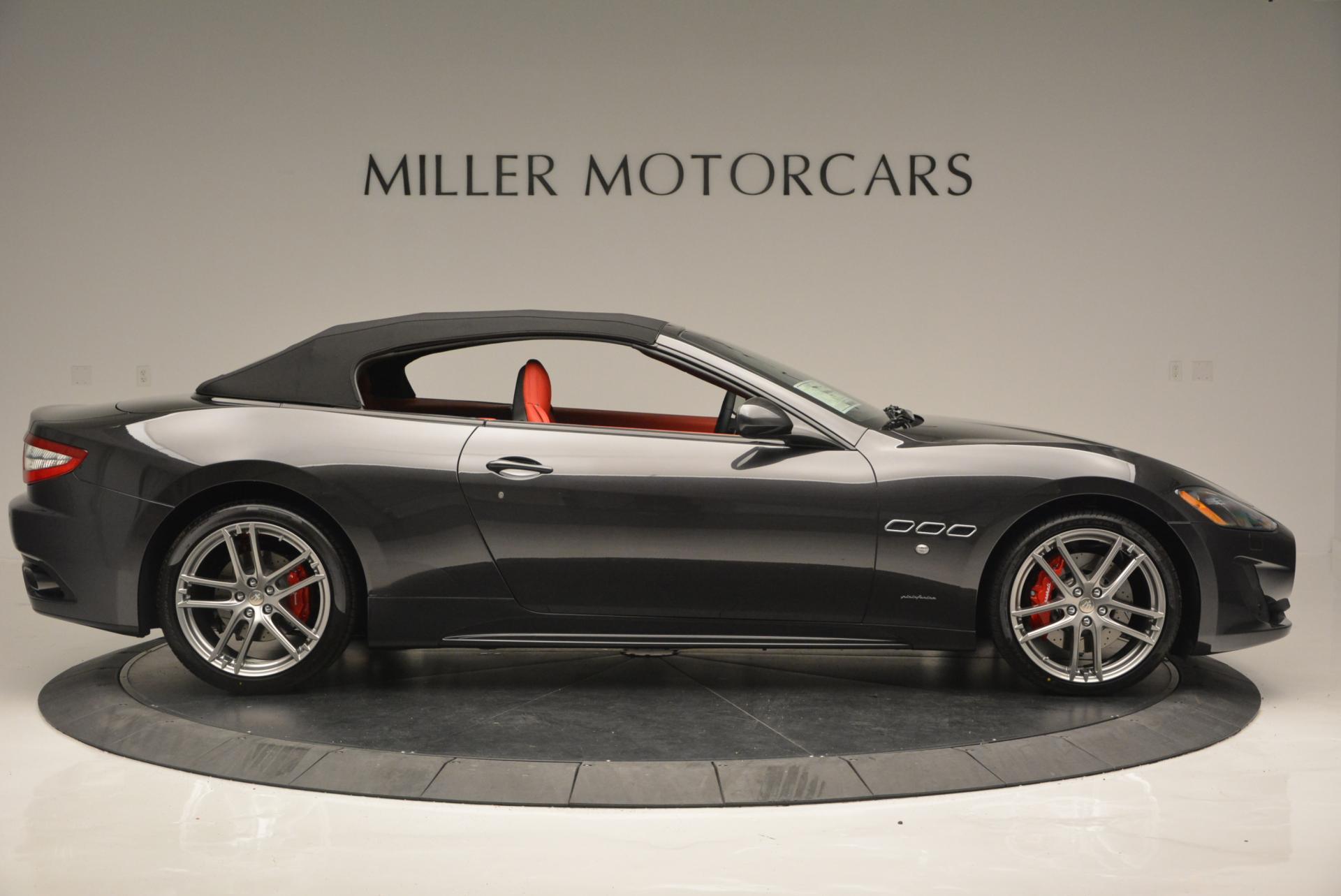 New 2017 Maserati GranTurismo Convertible Sport For Sale In Westport, CT 156_p11