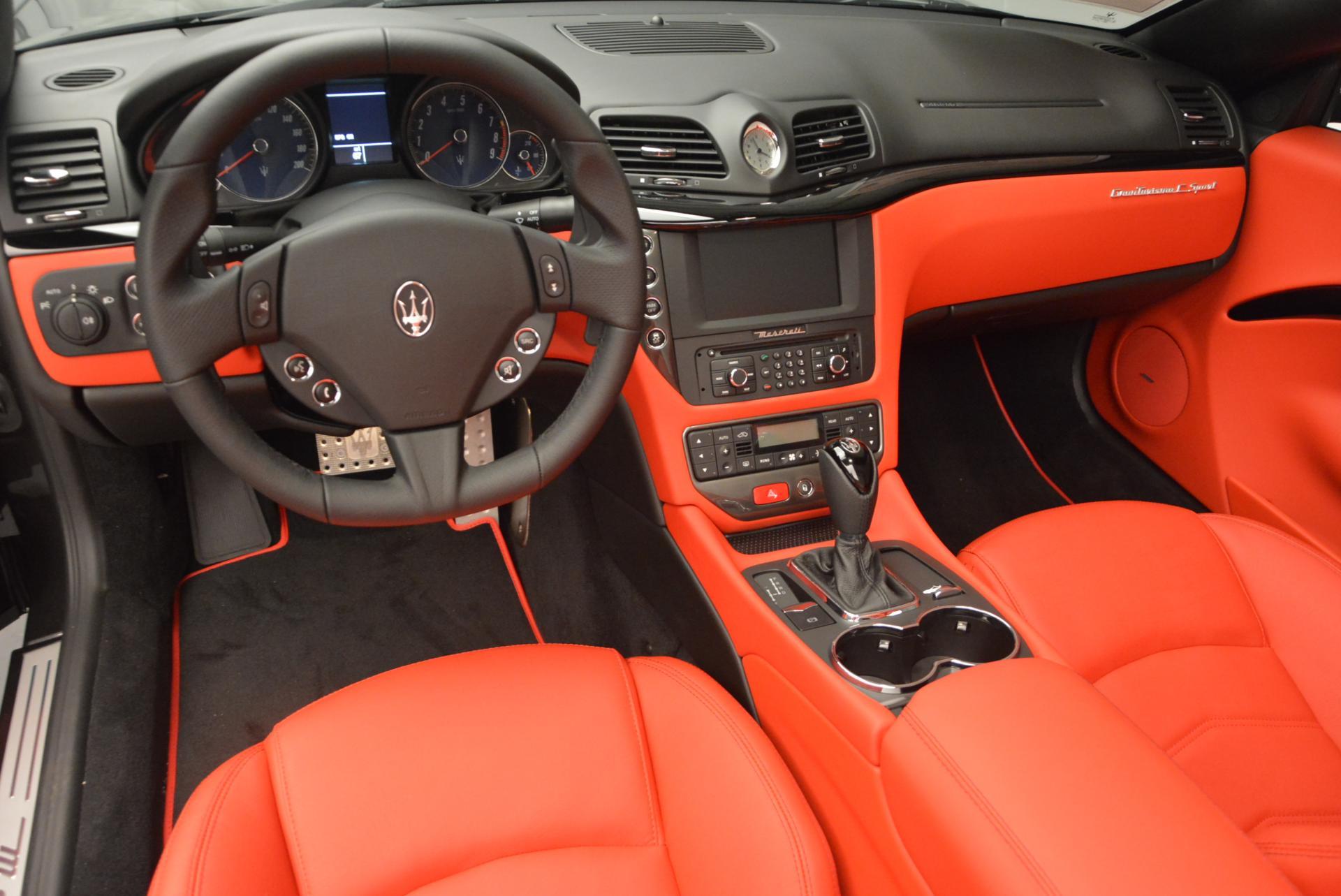New 2017 Maserati GranTurismo Convertible Sport For Sale In Westport, CT 156_p17