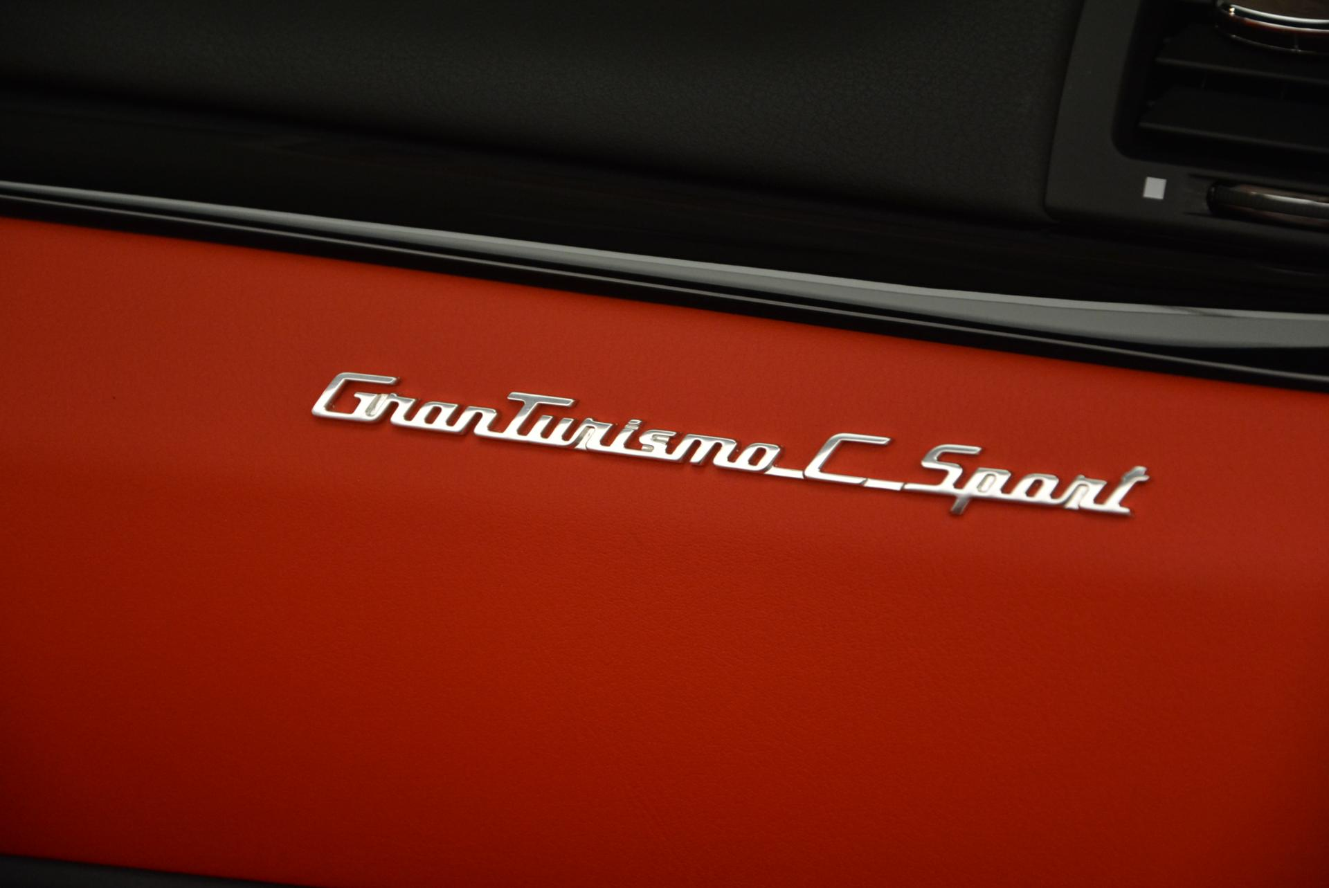 New 2017 Maserati GranTurismo Convertible Sport For Sale In Westport, CT 156_p22