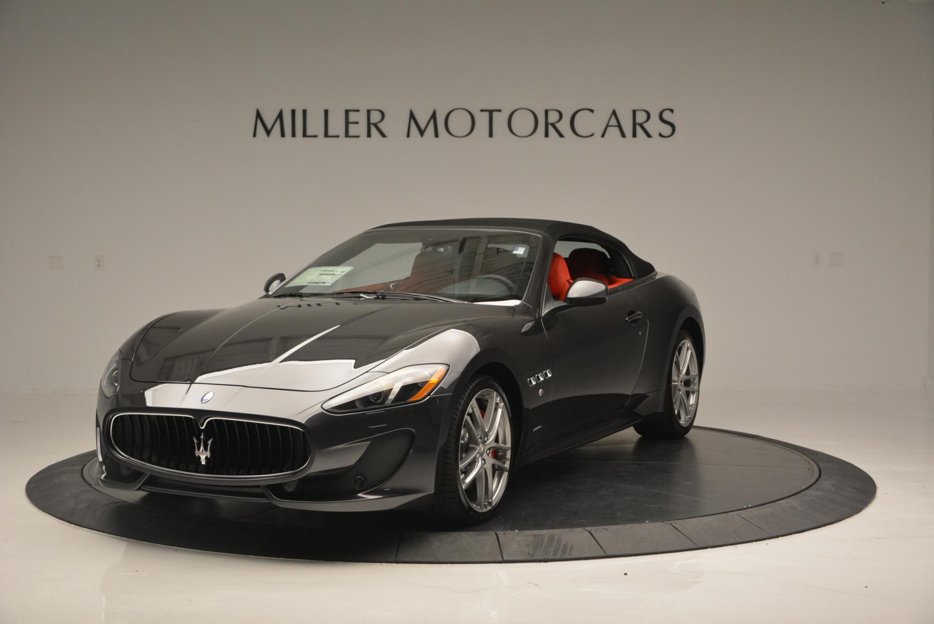 New 2017 Maserati GranTurismo Convertible Sport For Sale In Westport, CT 156_p2