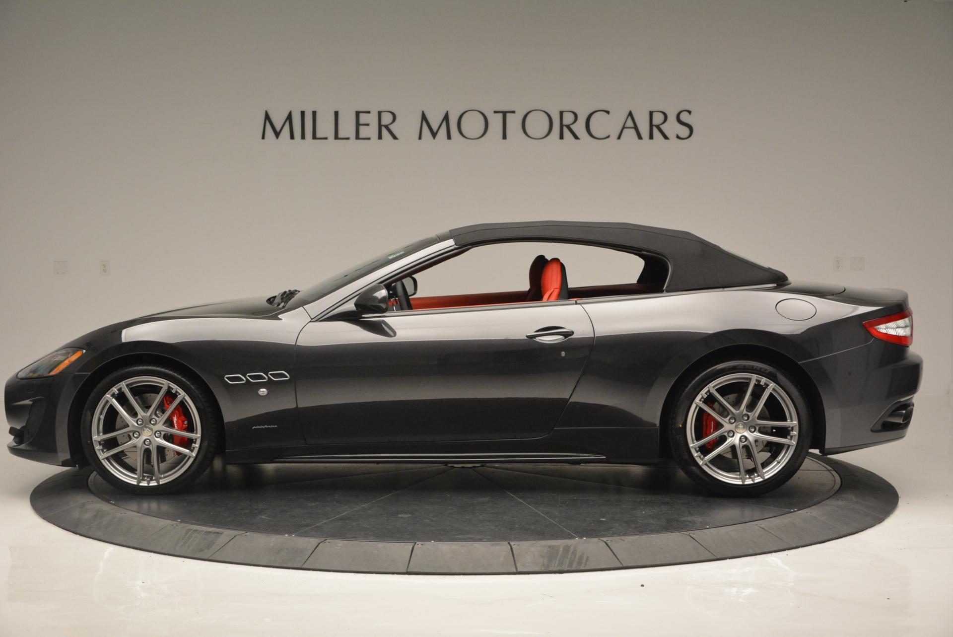 New 2017 Maserati GranTurismo Convertible Sport For Sale In Westport, CT 156_p6