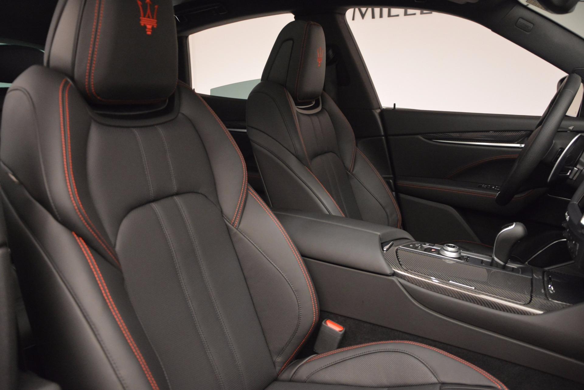 New 2017 Maserati Levante S Q4 For Sale In Westport, CT 1560_p22