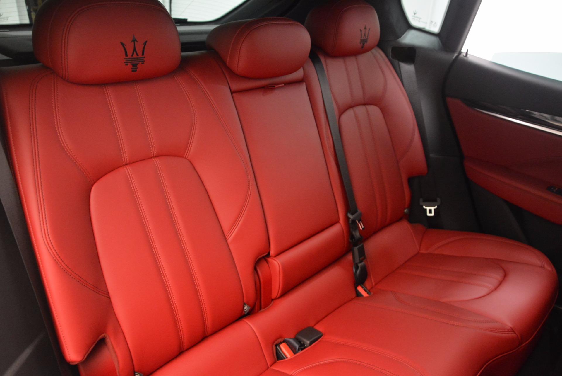 New 2018 Maserati Levante Q4 GranSport For Sale In Westport, CT 1563_p24