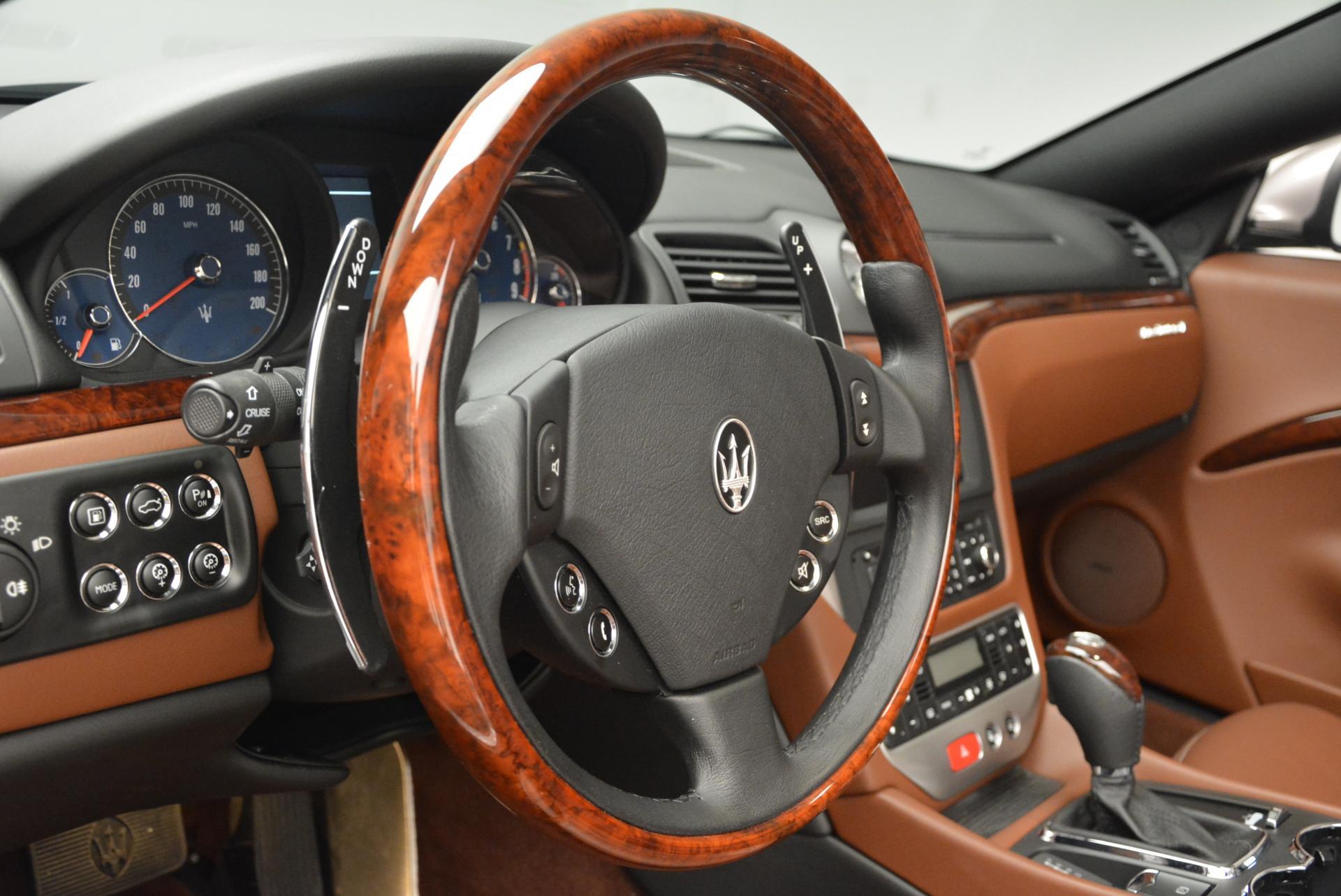 Used 2012 Maserati GranTurismo  For Sale In Westport, CT 157_p24