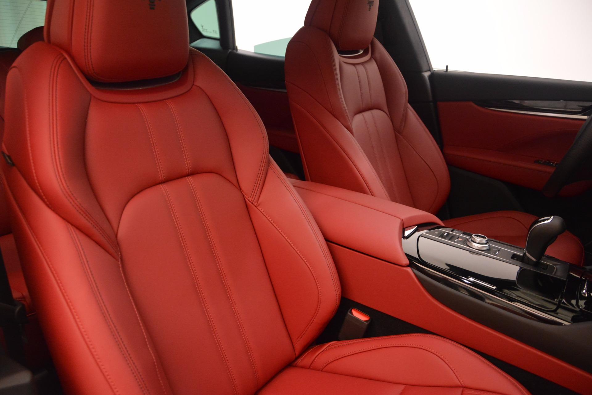 New 2018 Maserati Levante Q4 GranSport For Sale In Westport, CT 1570_p21