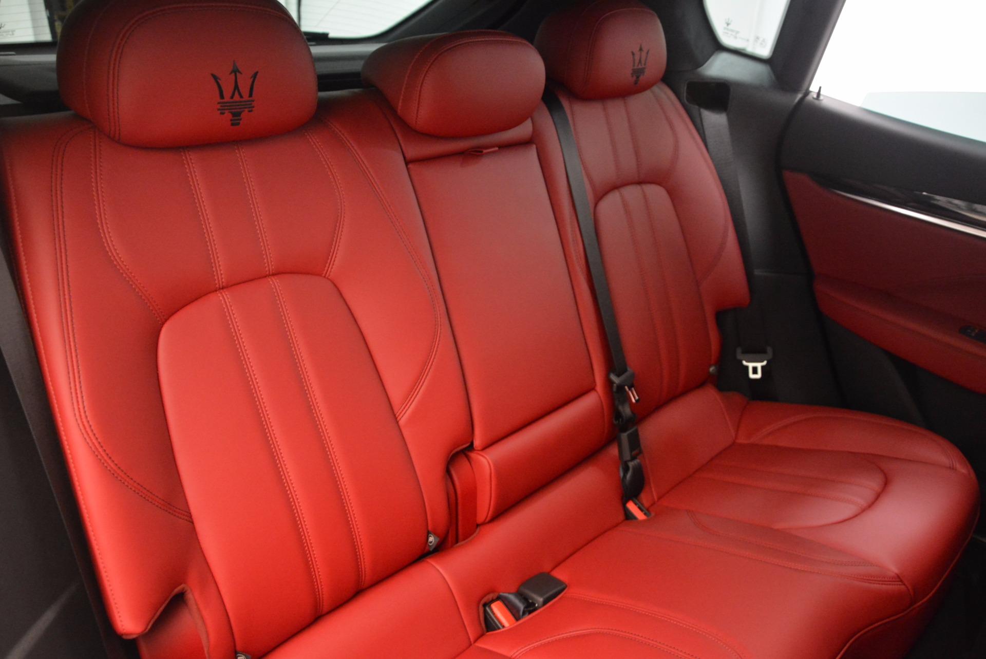 New 2018 Maserati Levante Q4 GranSport For Sale In Westport, CT 1570_p24