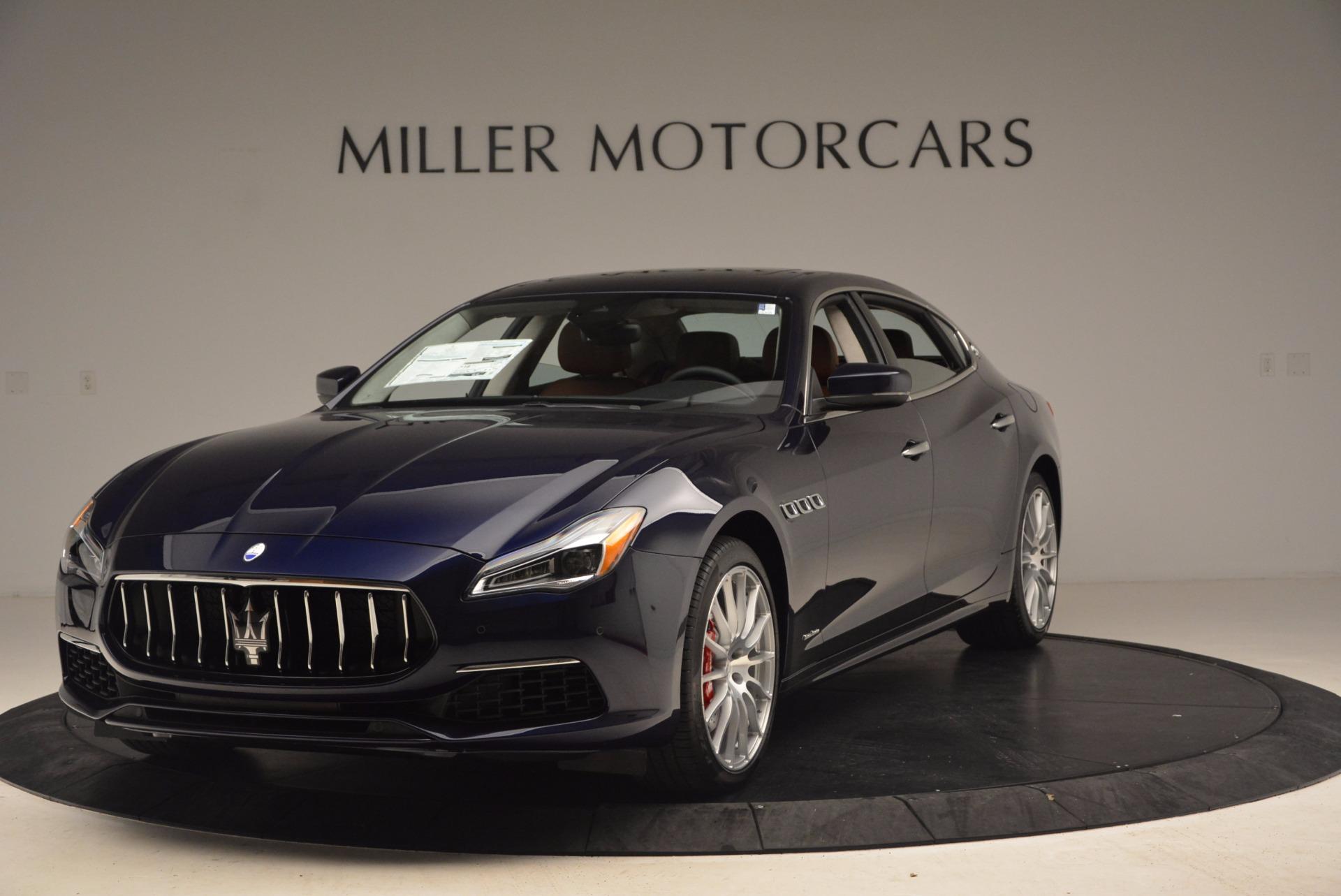 Used 2018 Maserati Quattroporte S Q4 GranLusso For Sale In Westport, CT 1572_main