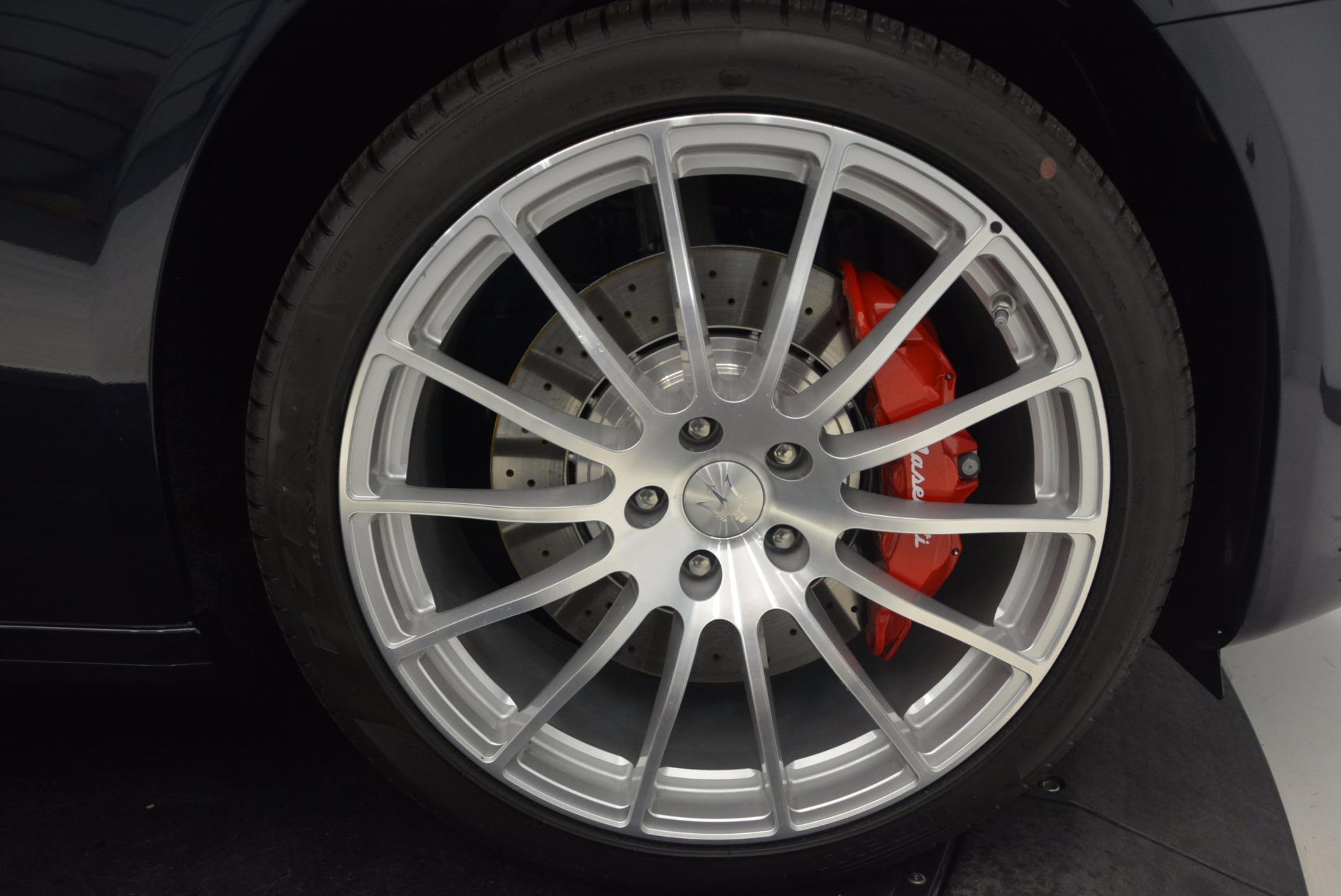 Used 2018 Maserati Quattroporte S Q4 GranLusso For Sale In Westport, CT 1572_p25