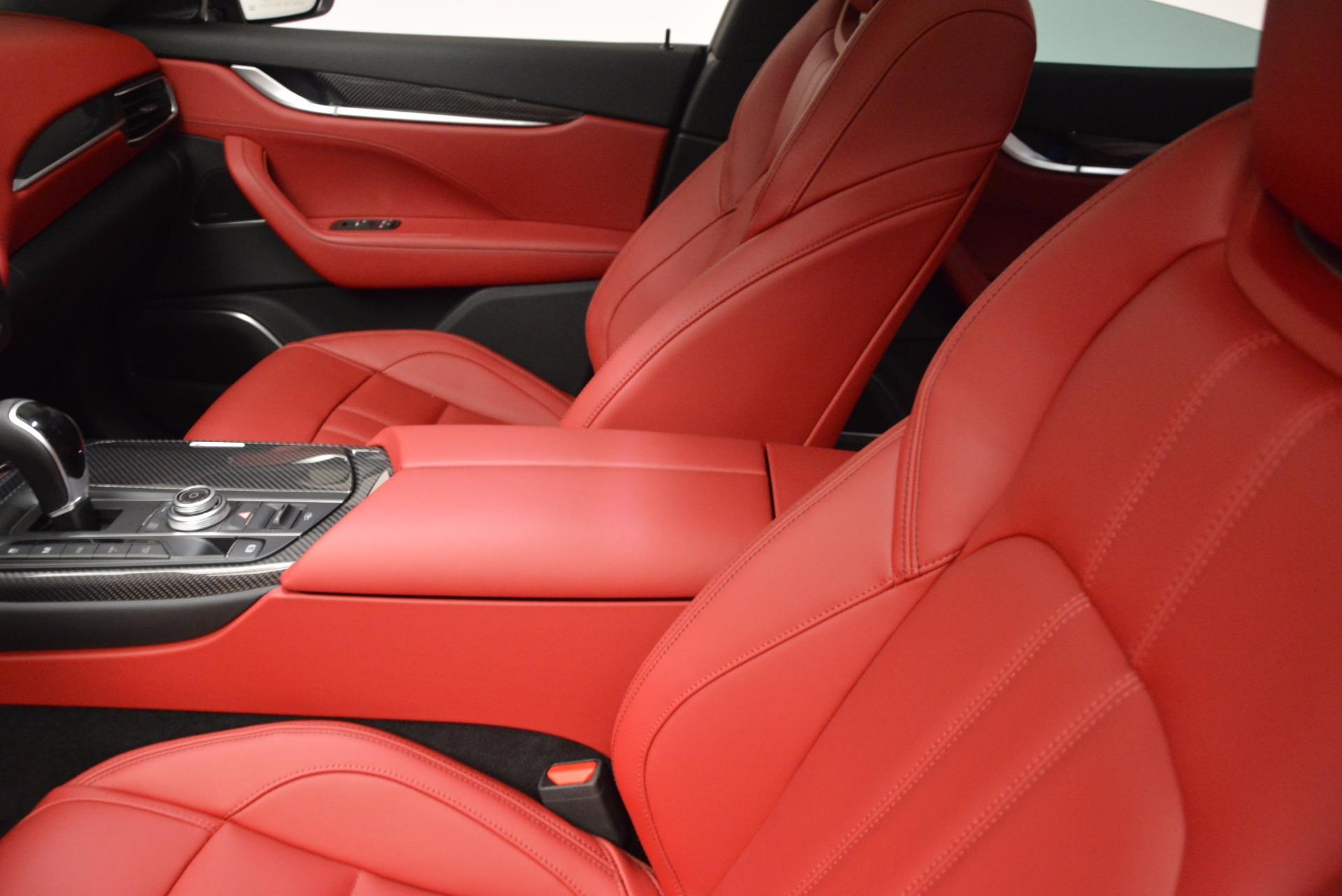 New 2018 Maserati Levante Q4 GranSport For Sale In Westport, CT 1577_p16