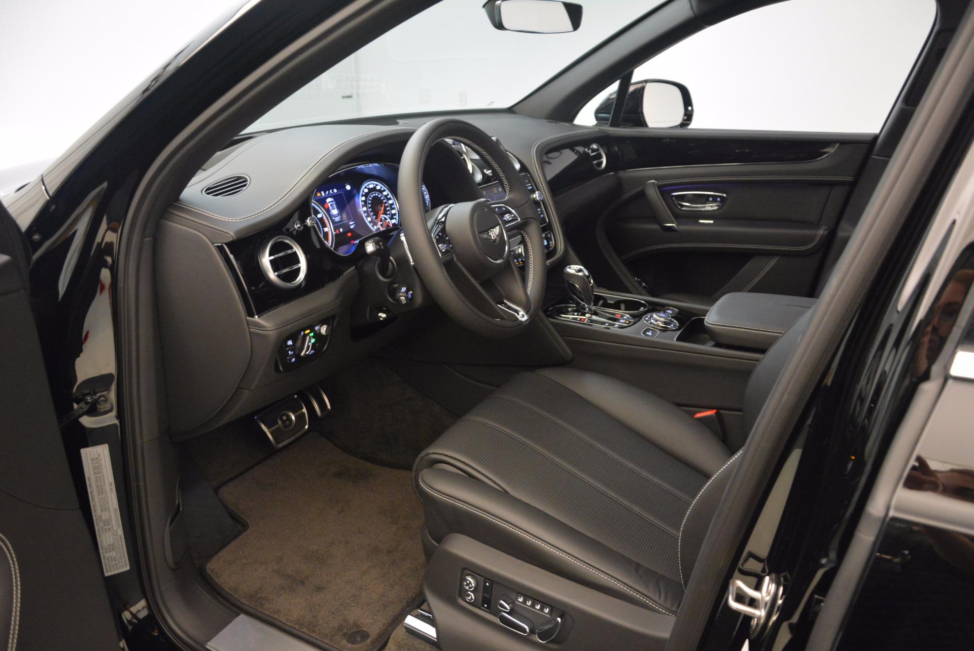New 2018 Bentley Bentayga Onyx For Sale In Westport, CT 1579_p18