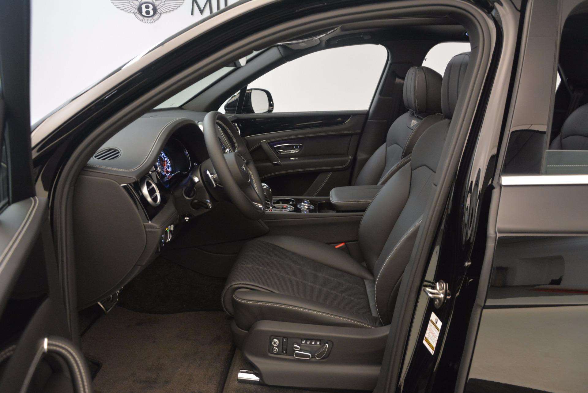 New 2018 Bentley Bentayga Onyx For Sale In Westport, CT 1579_p19
