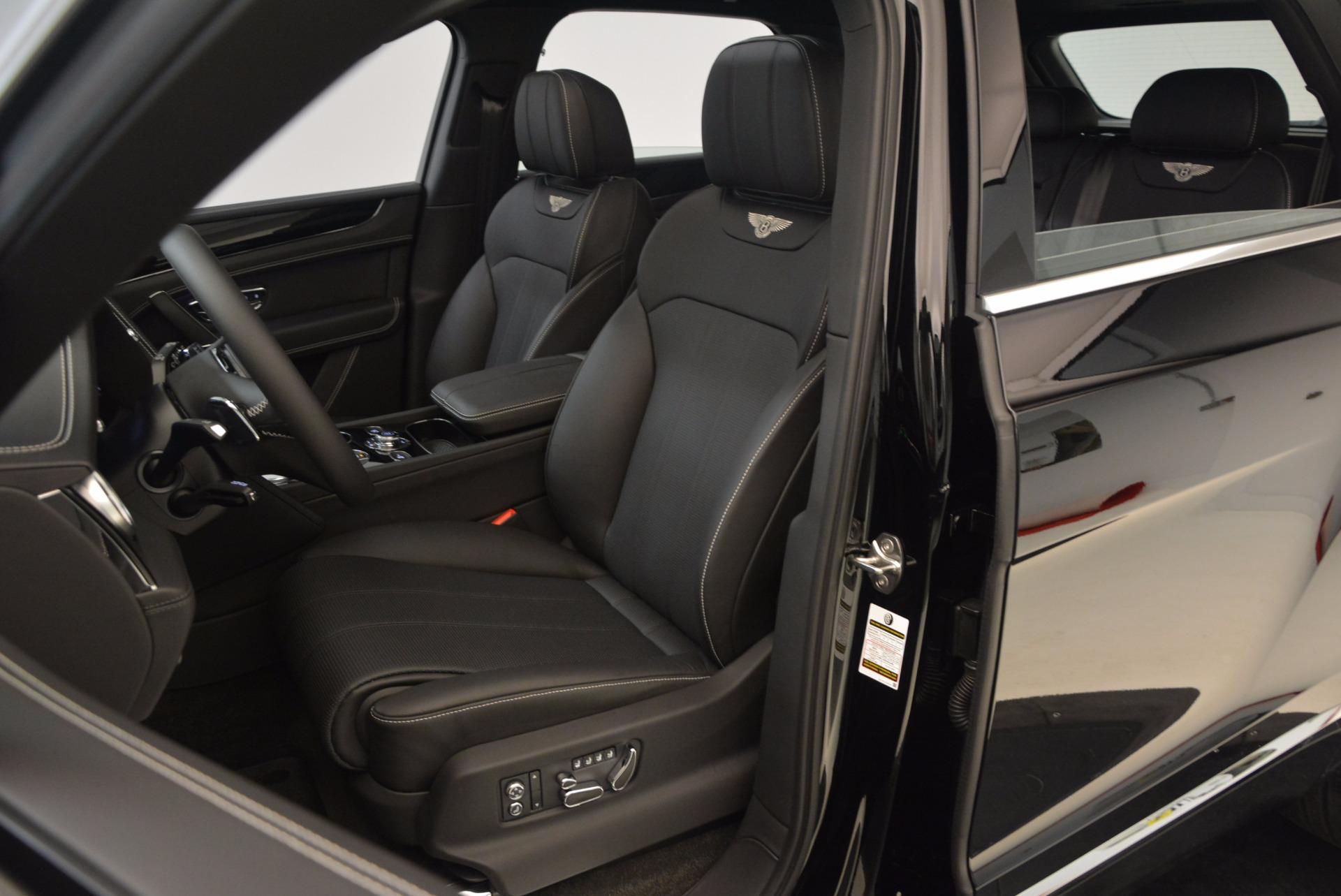 New 2018 Bentley Bentayga Onyx For Sale In Westport, CT 1579_p20