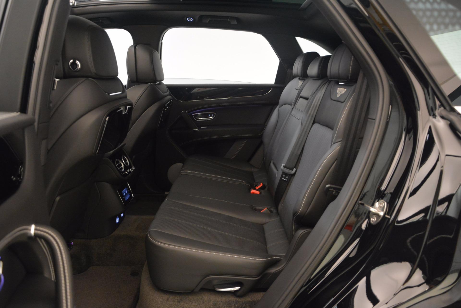 New 2018 Bentley Bentayga Onyx For Sale In Westport, CT 1579_p23