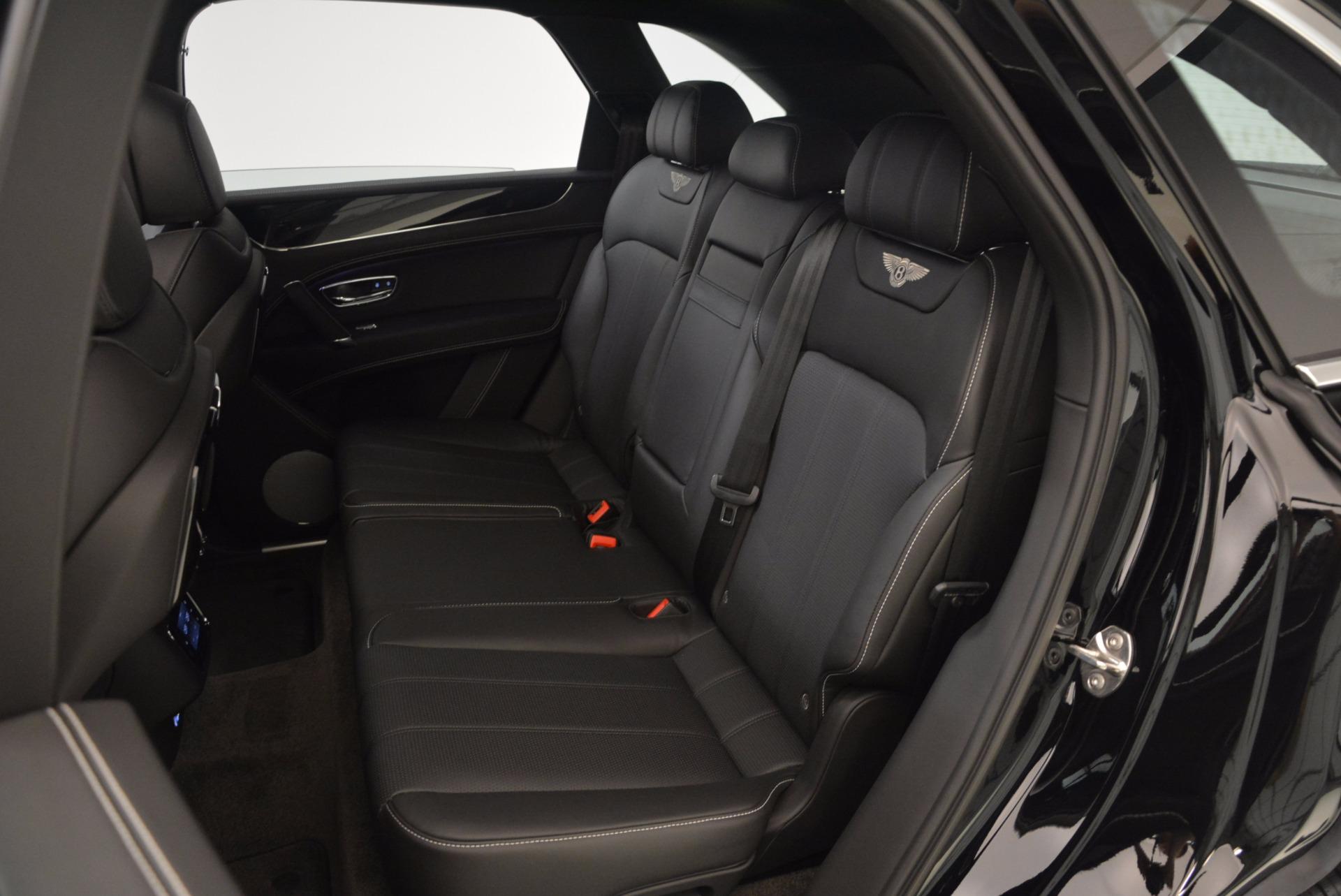 New 2018 Bentley Bentayga Onyx For Sale In Westport, CT 1579_p24