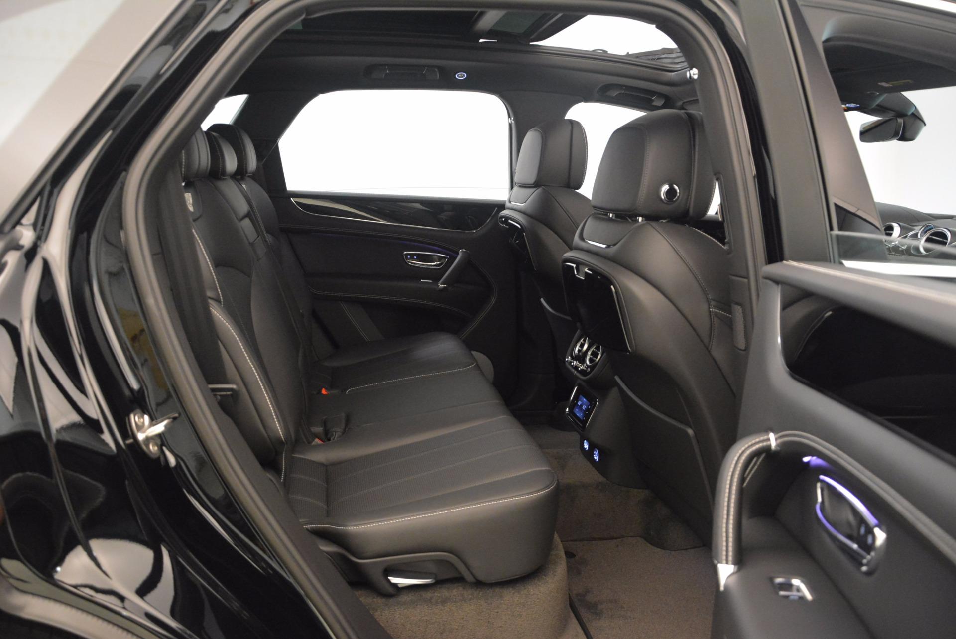 New 2018 Bentley Bentayga Onyx For Sale In Westport, CT 1579_p30