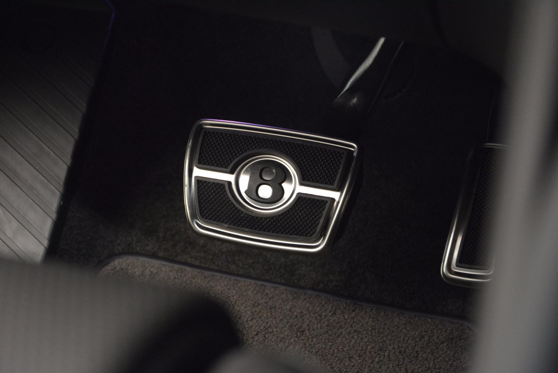 New 2018 Bentley Bentayga Onyx For Sale In Westport, CT 1579_p37