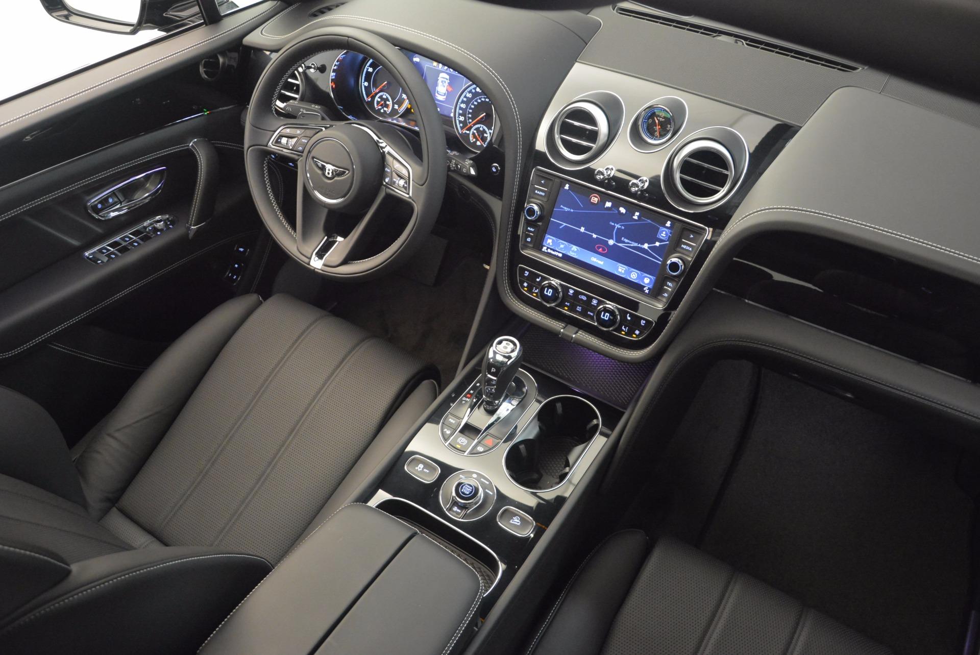 New 2018 Bentley Bentayga Onyx For Sale In Westport, CT 1579_p46