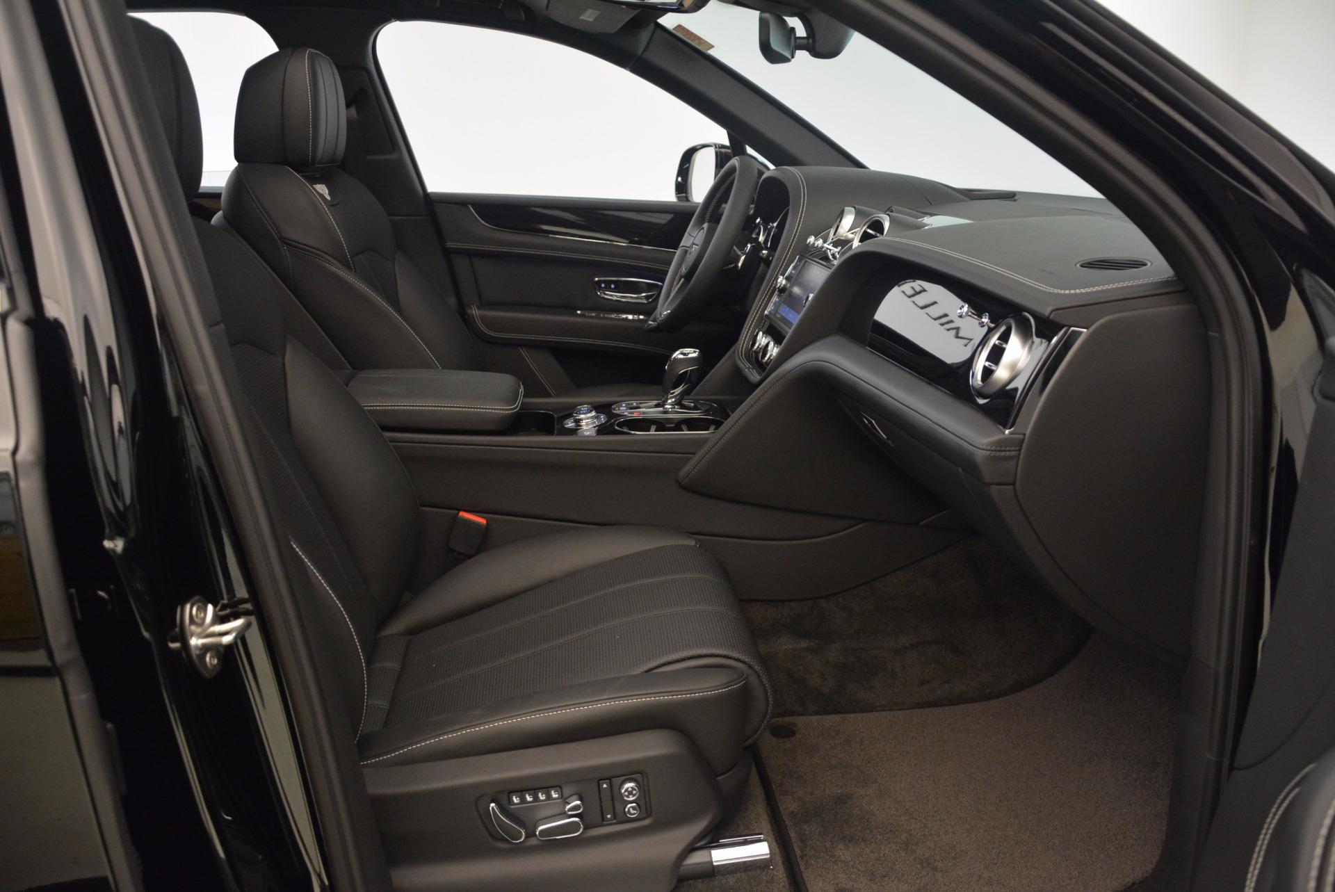 New 2018 Bentley Bentayga Onyx For Sale In Westport, CT 1579_p48