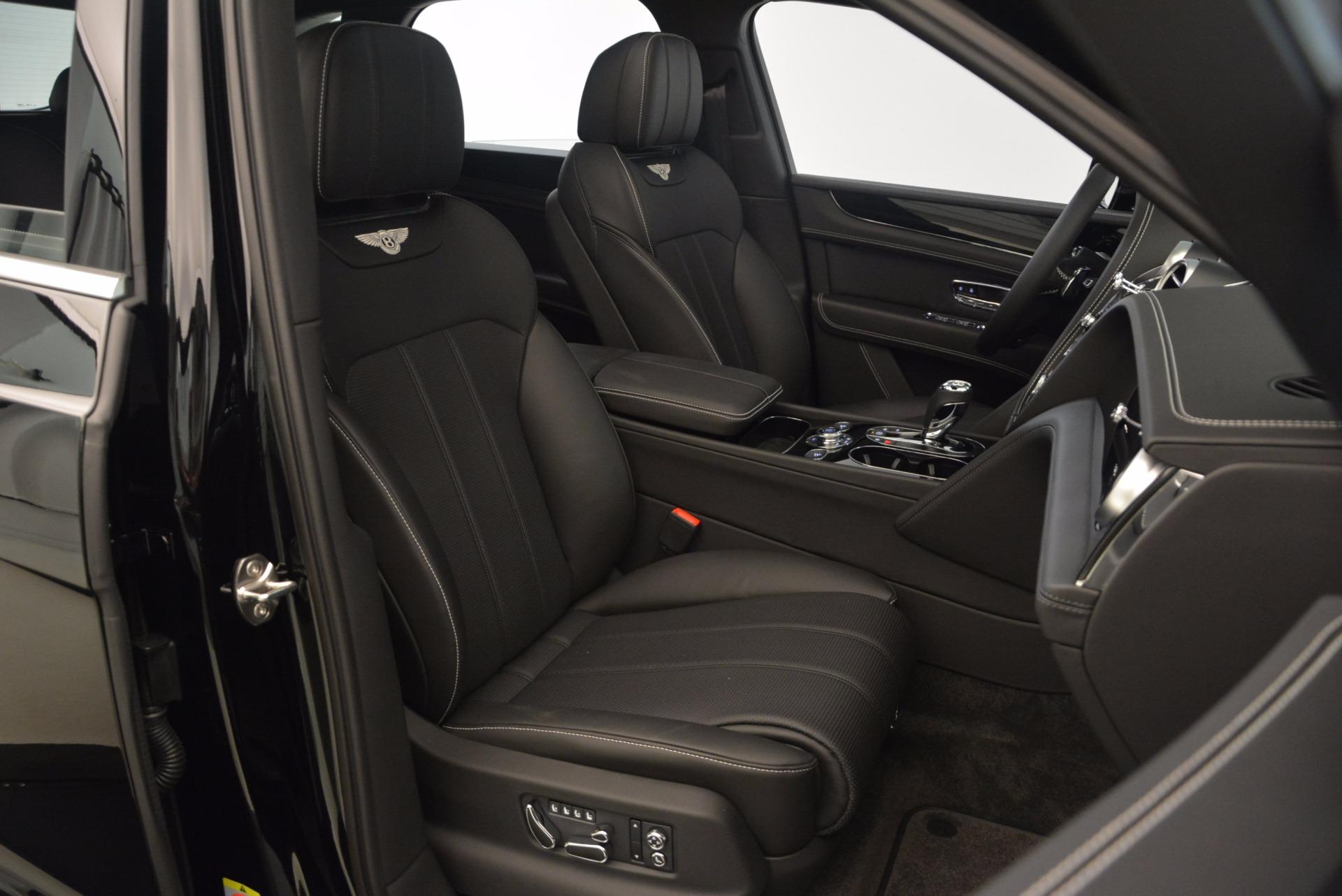 New 2018 Bentley Bentayga Onyx For Sale In Westport, CT 1579_p49