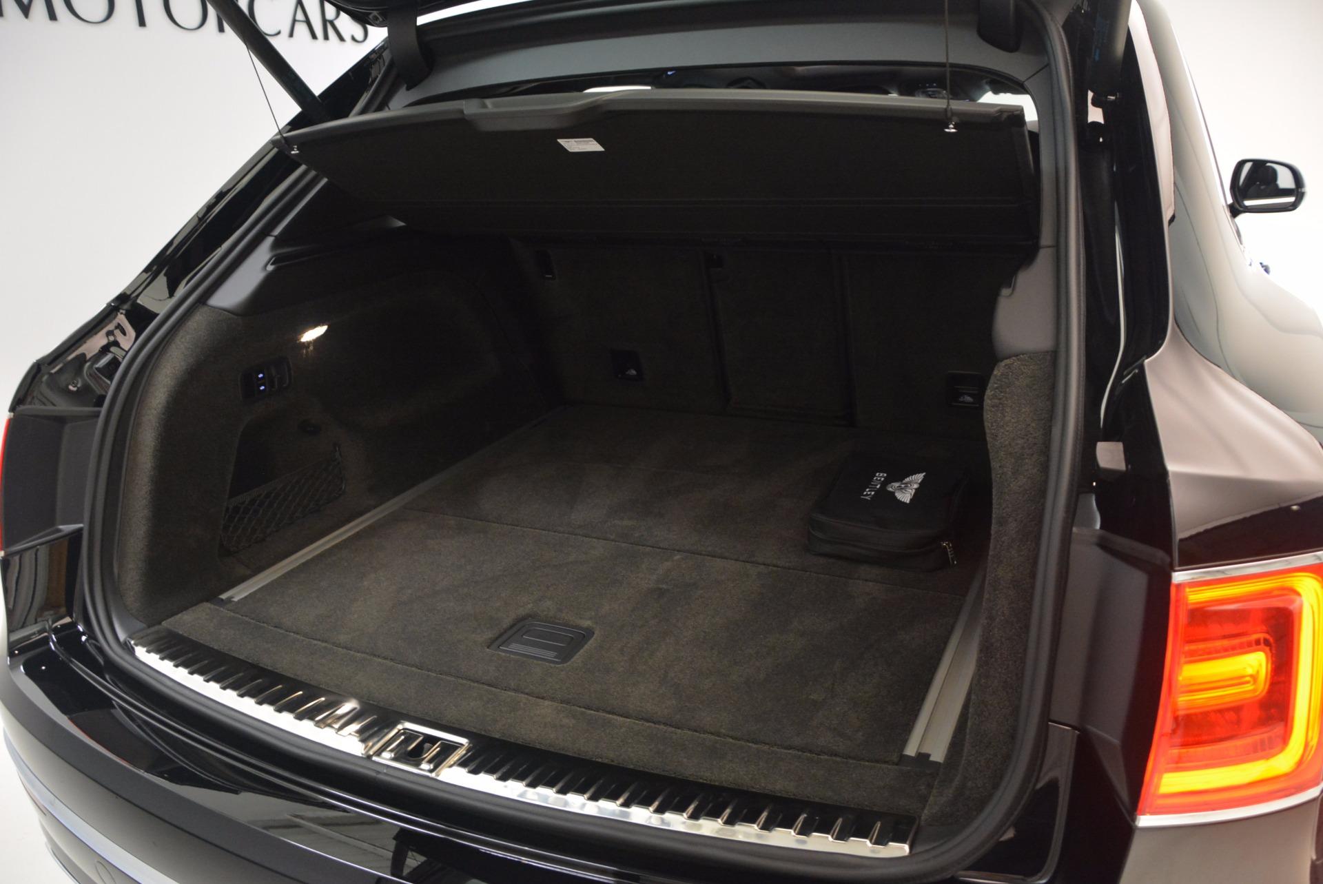 New 2018 Bentley Bentayga Onyx For Sale In Westport, CT 1579_p53