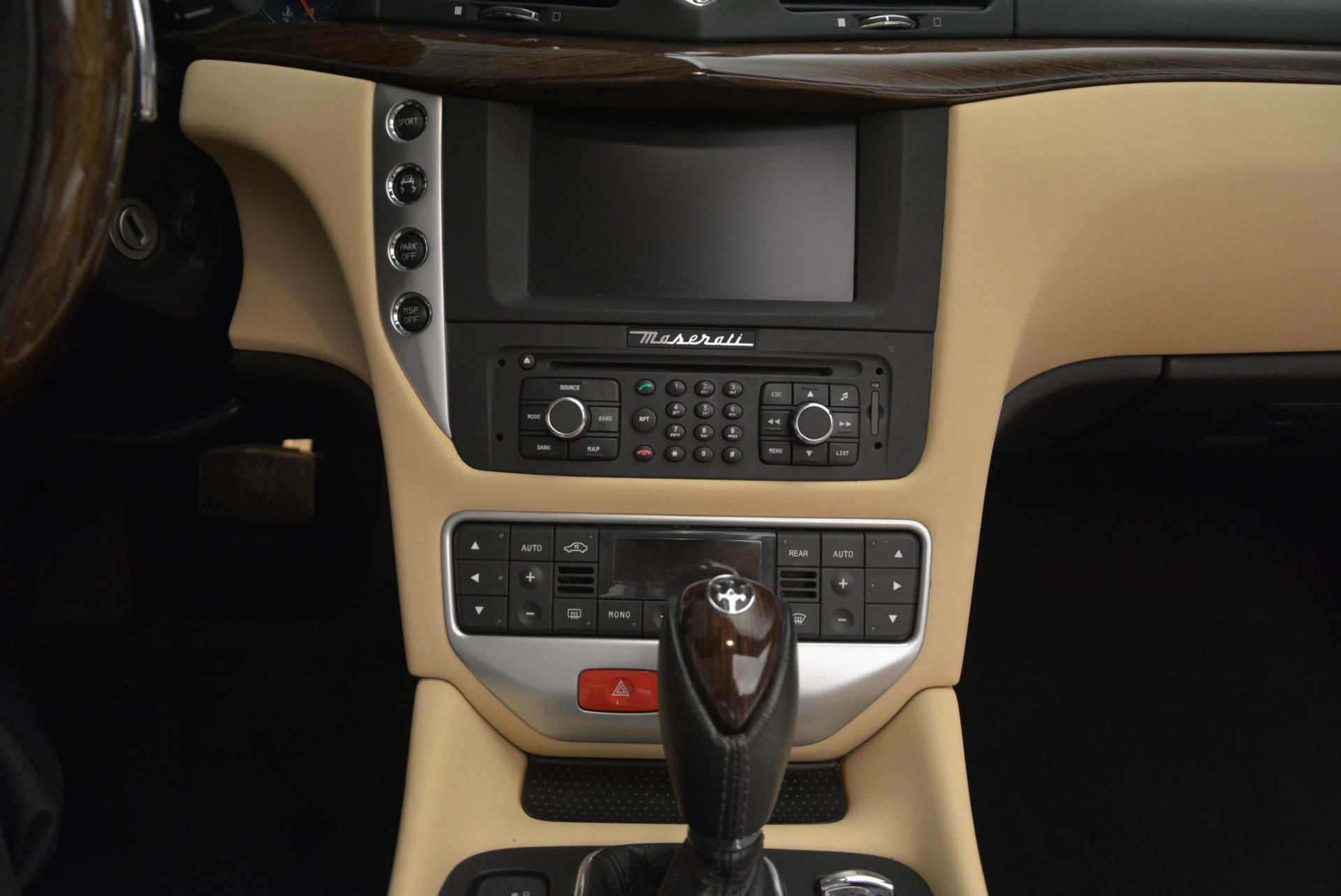 Used 2011 Maserati GranTurismo Base For Sale In Westport, CT 158_p37