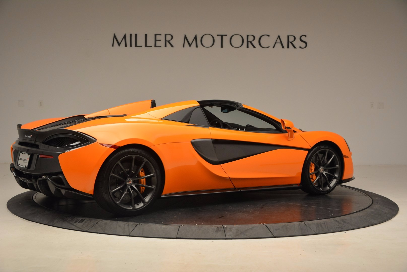 New 2018 McLaren 570S Spider  For Sale In Westport, CT 1580_p8