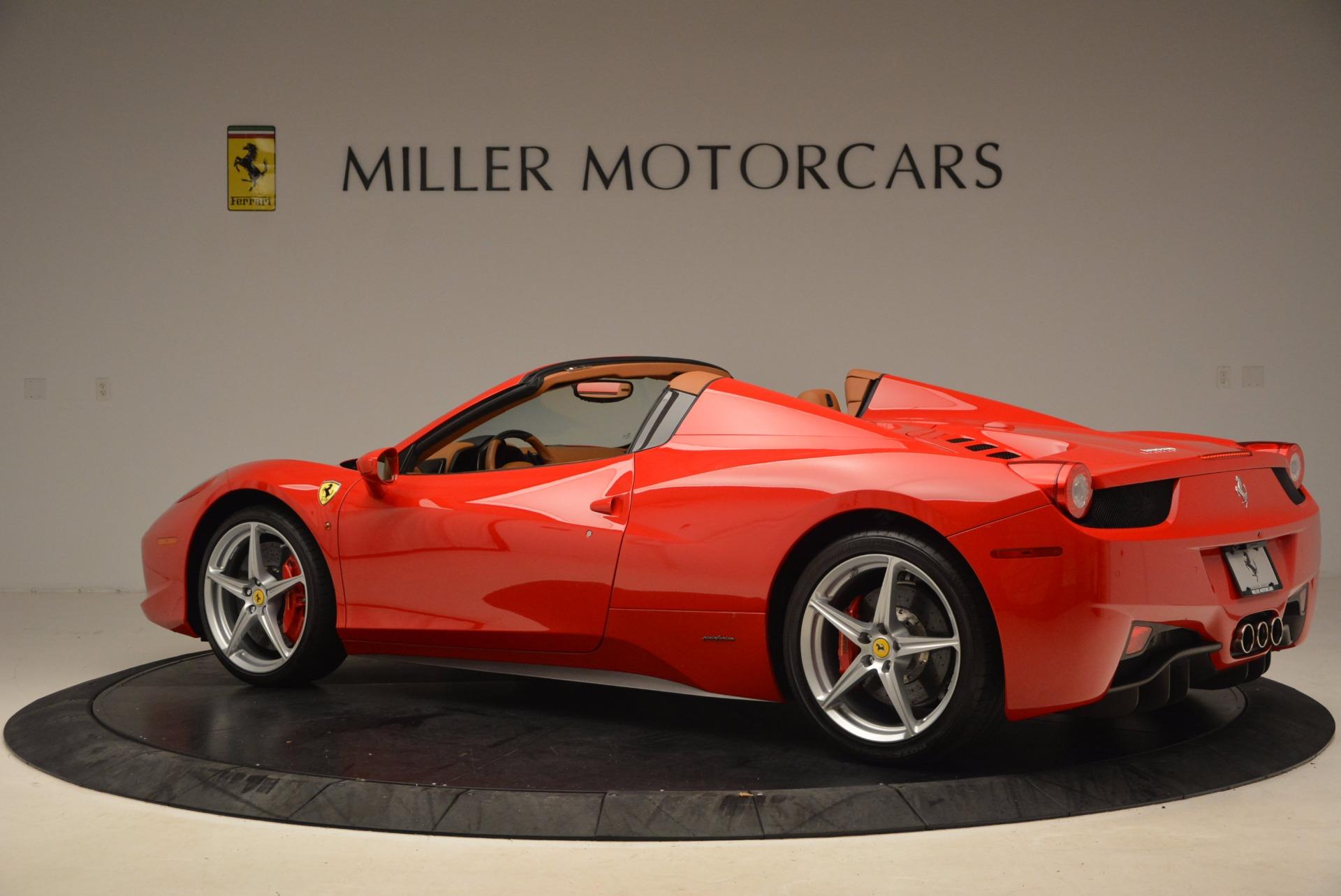Used 2012 Ferrari 458 Spider  For Sale In Westport, CT 1581_p4