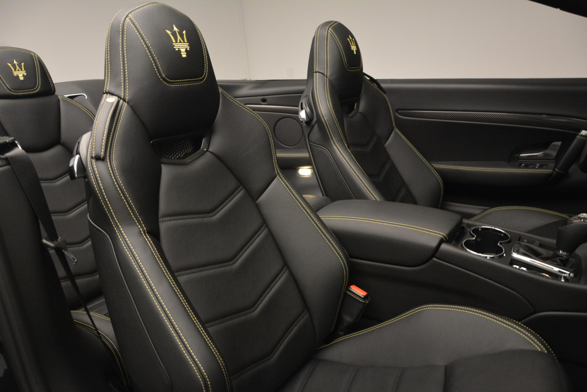 New 2017 Maserati GranTurismo Convertible Sport For Sale In Westport, CT 159_p27