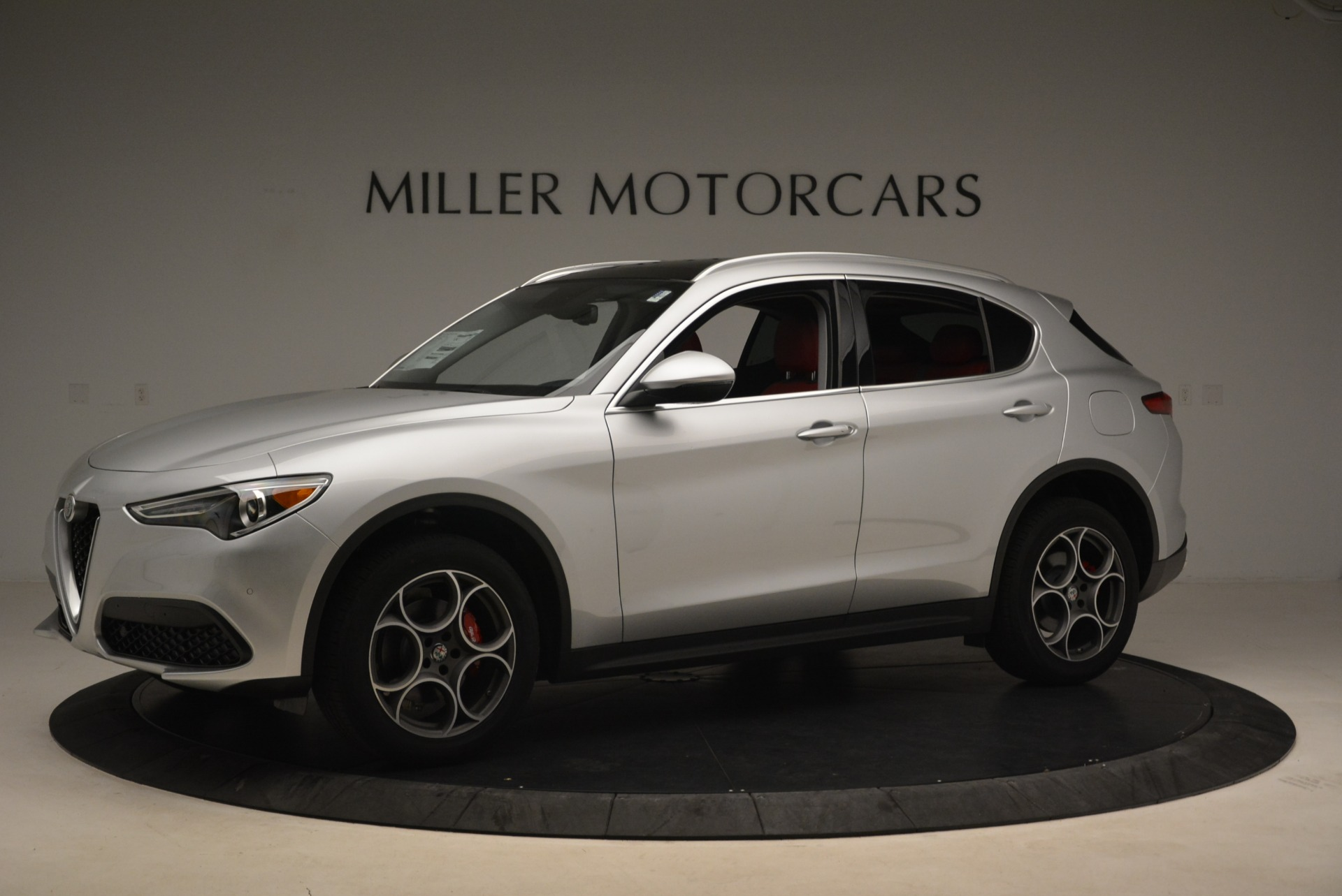 New 2018 Alfa Romeo Stelvio Ti Q4 For Sale In Westport, CT 1593_p2