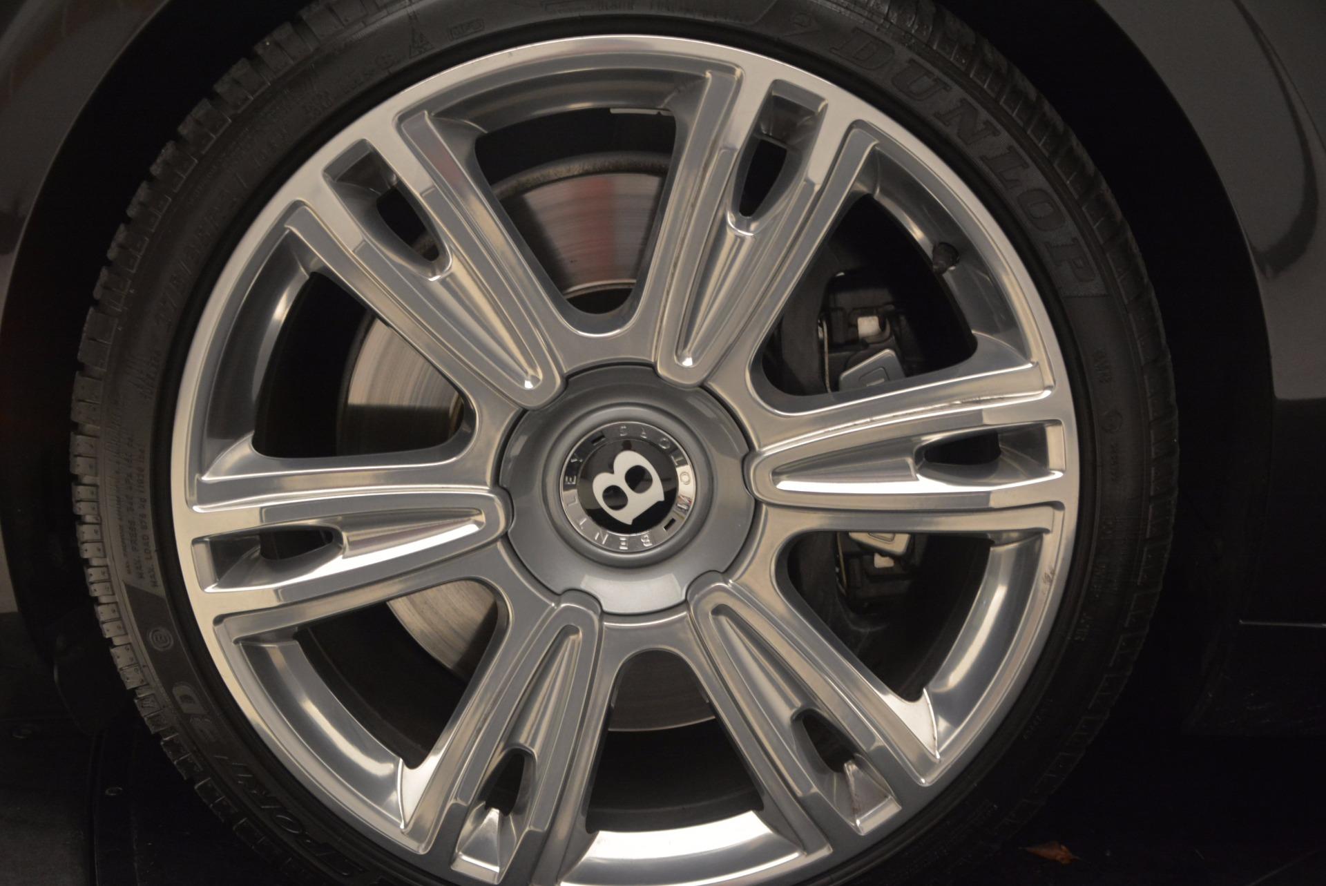 Used 2014 Bentley Flying Spur W12 For Sale In Westport, CT 1598_p22