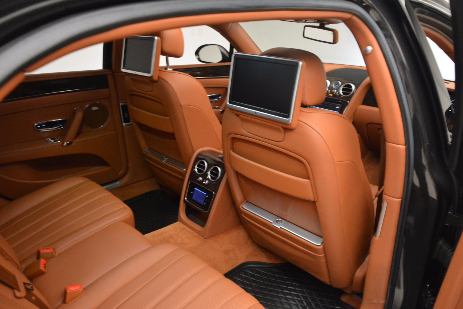 Used 2014 Bentley Flying Spur W12 For Sale In Westport, CT 1598_p36