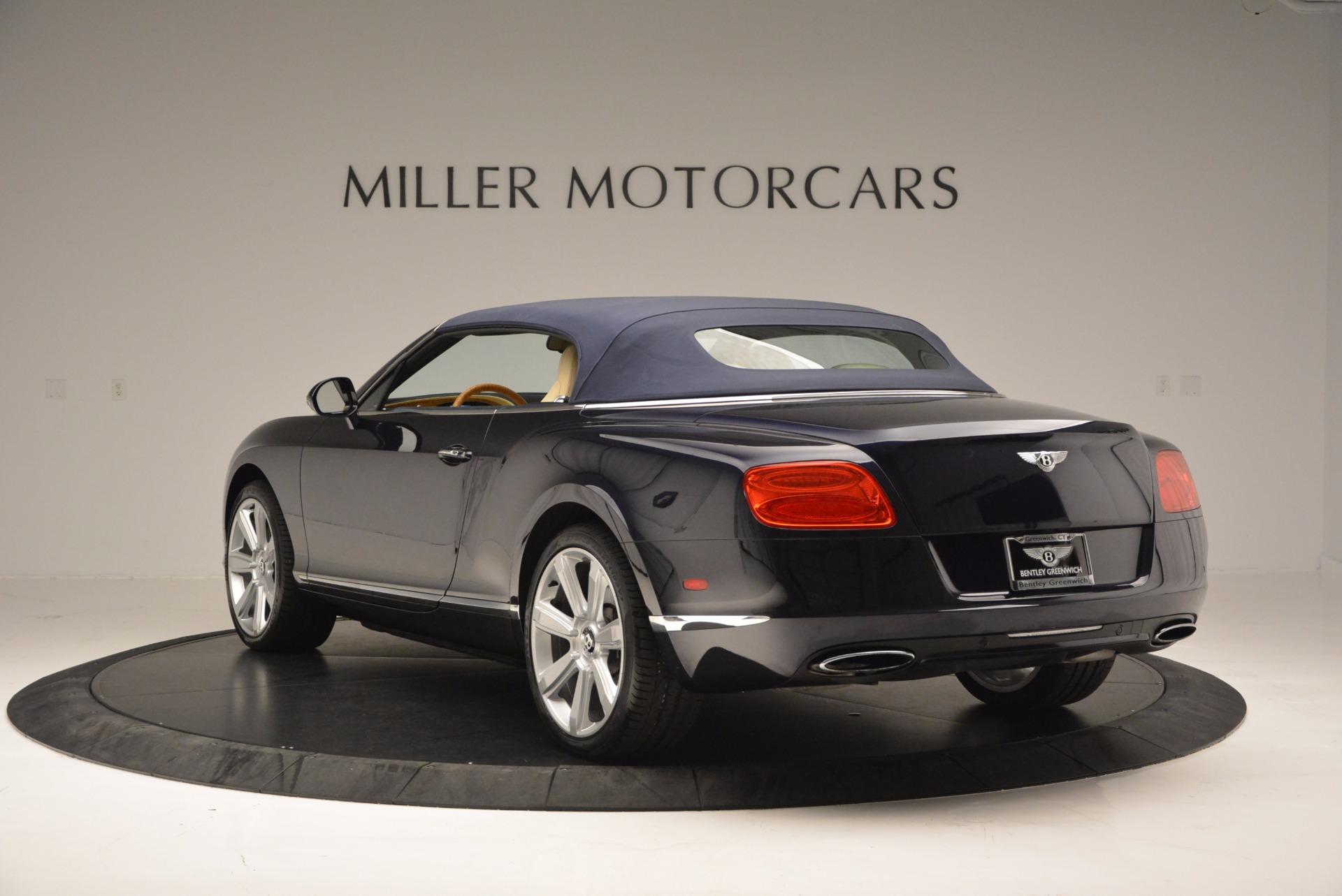 Used 2012 Bentley Continental GTC  For Sale In Westport, CT 16_p18