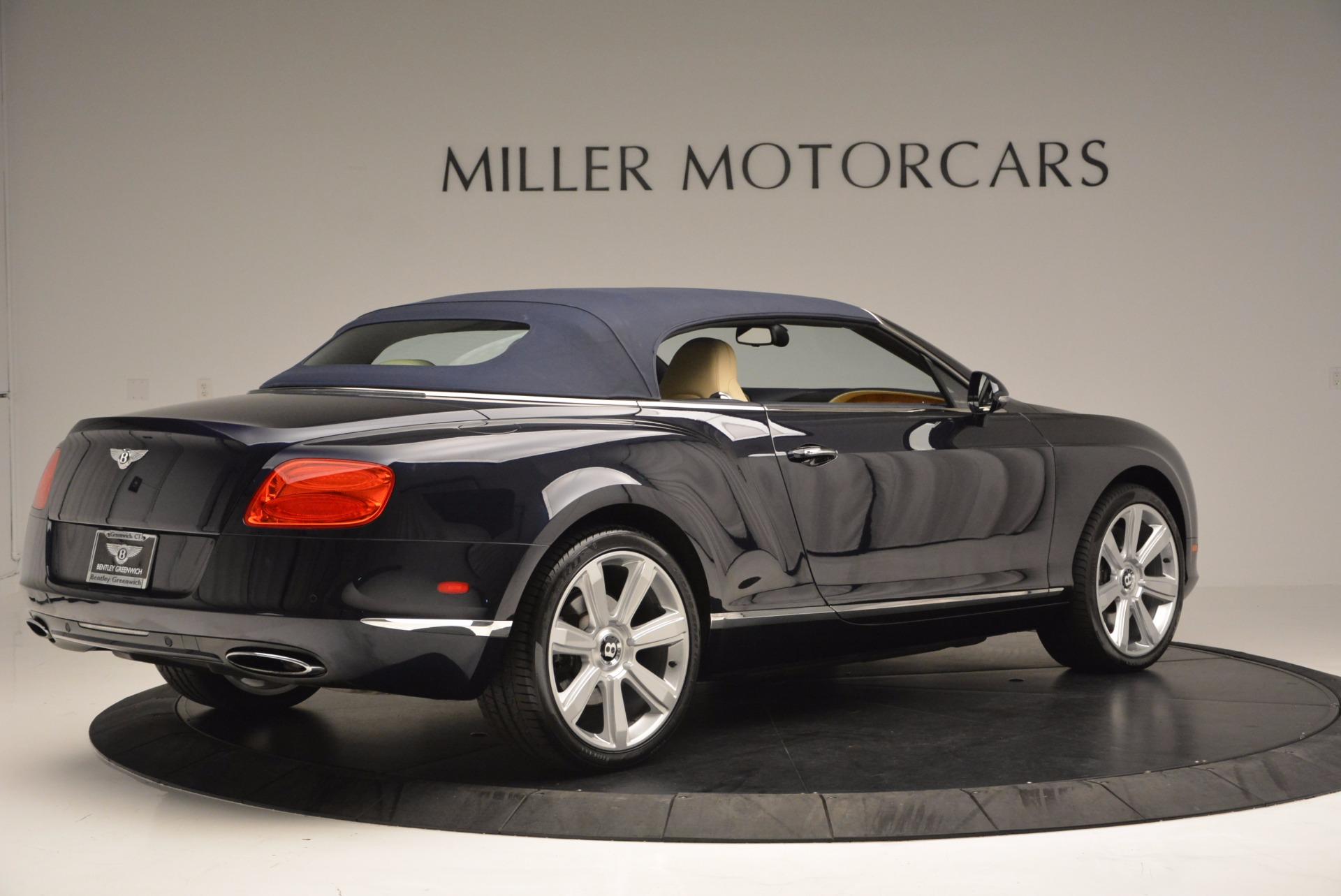 Used 2012 Bentley Continental GTC  For Sale In Westport, CT 16_p21