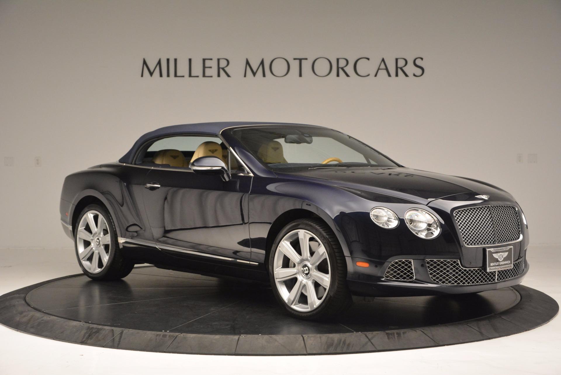 Used 2012 Bentley Continental GTC  For Sale In Westport, CT 16_p23