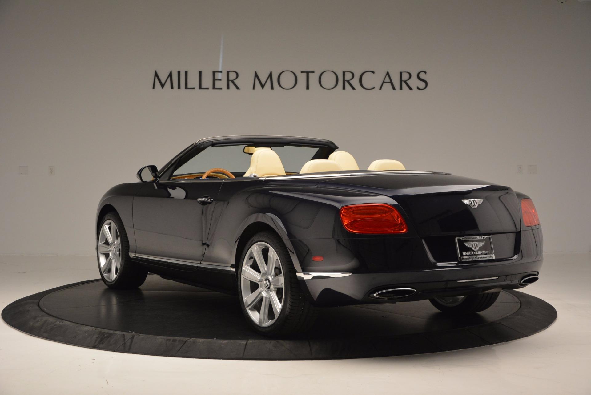 Used 2012 Bentley Continental GTC  For Sale In Westport, CT 16_p5