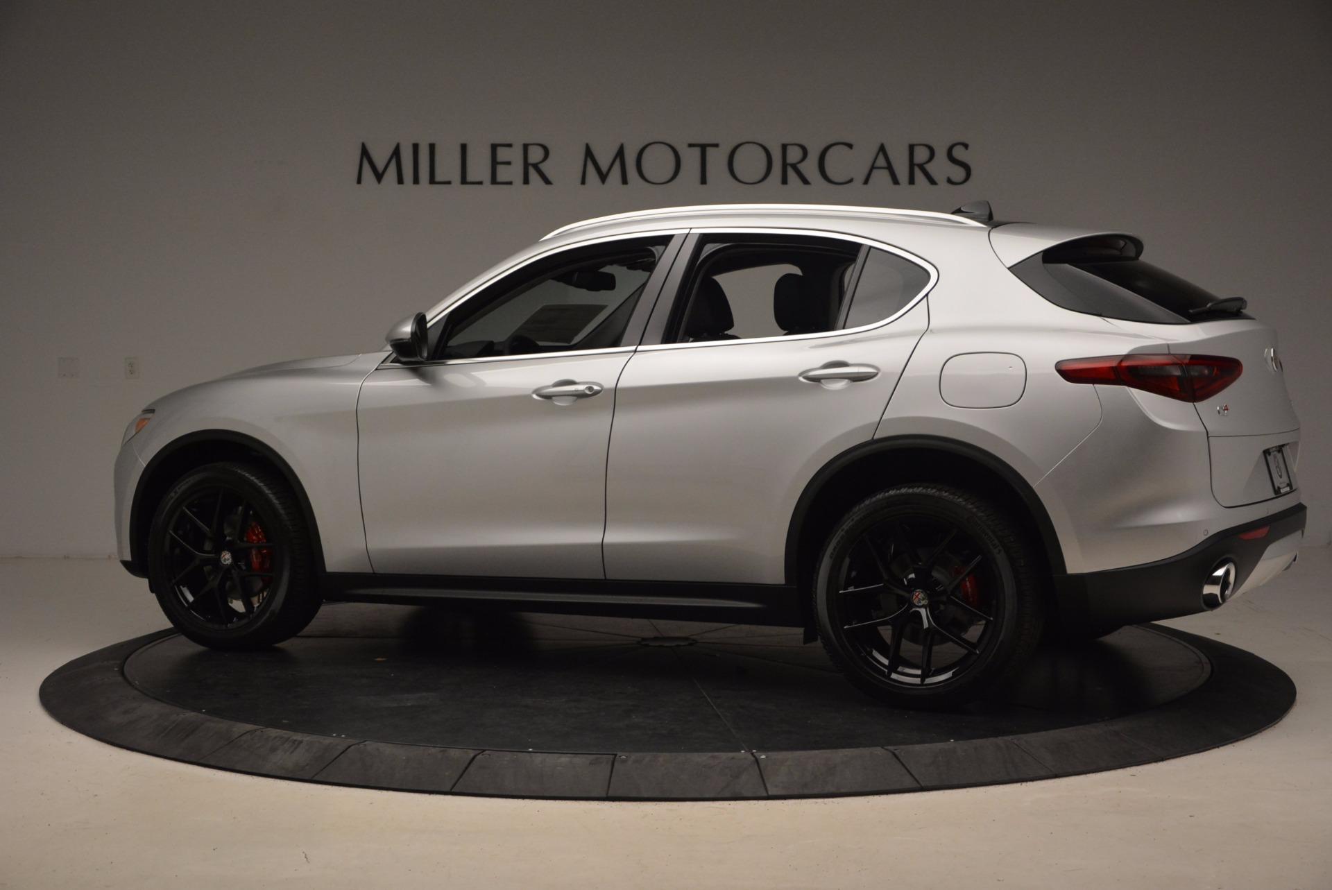 New 2018 Alfa Romeo Stelvio Ti Q4 For Sale In Westport, CT 1606_p4