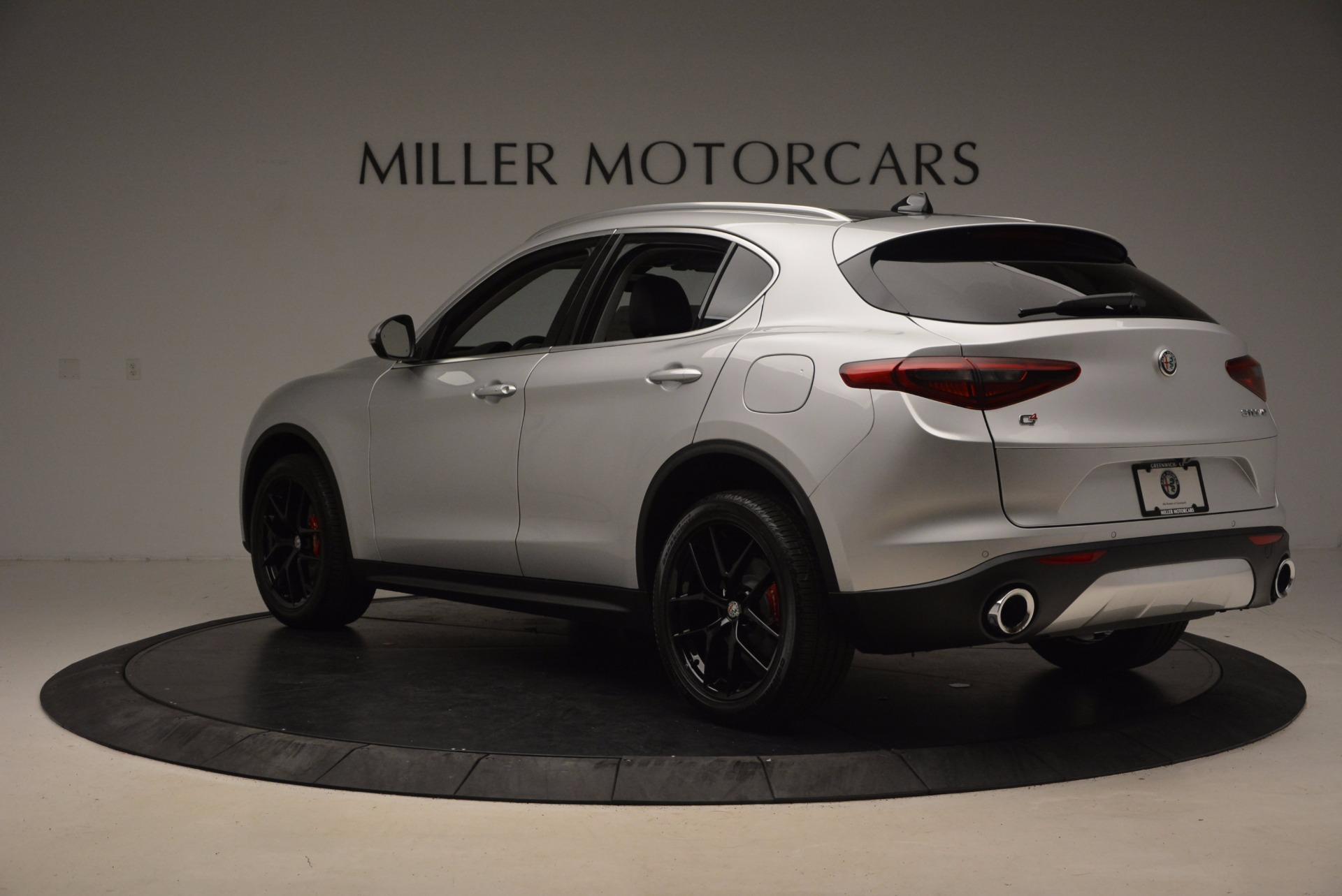 New 2018 Alfa Romeo Stelvio Ti Q4 For Sale In Westport, CT 1606_p5