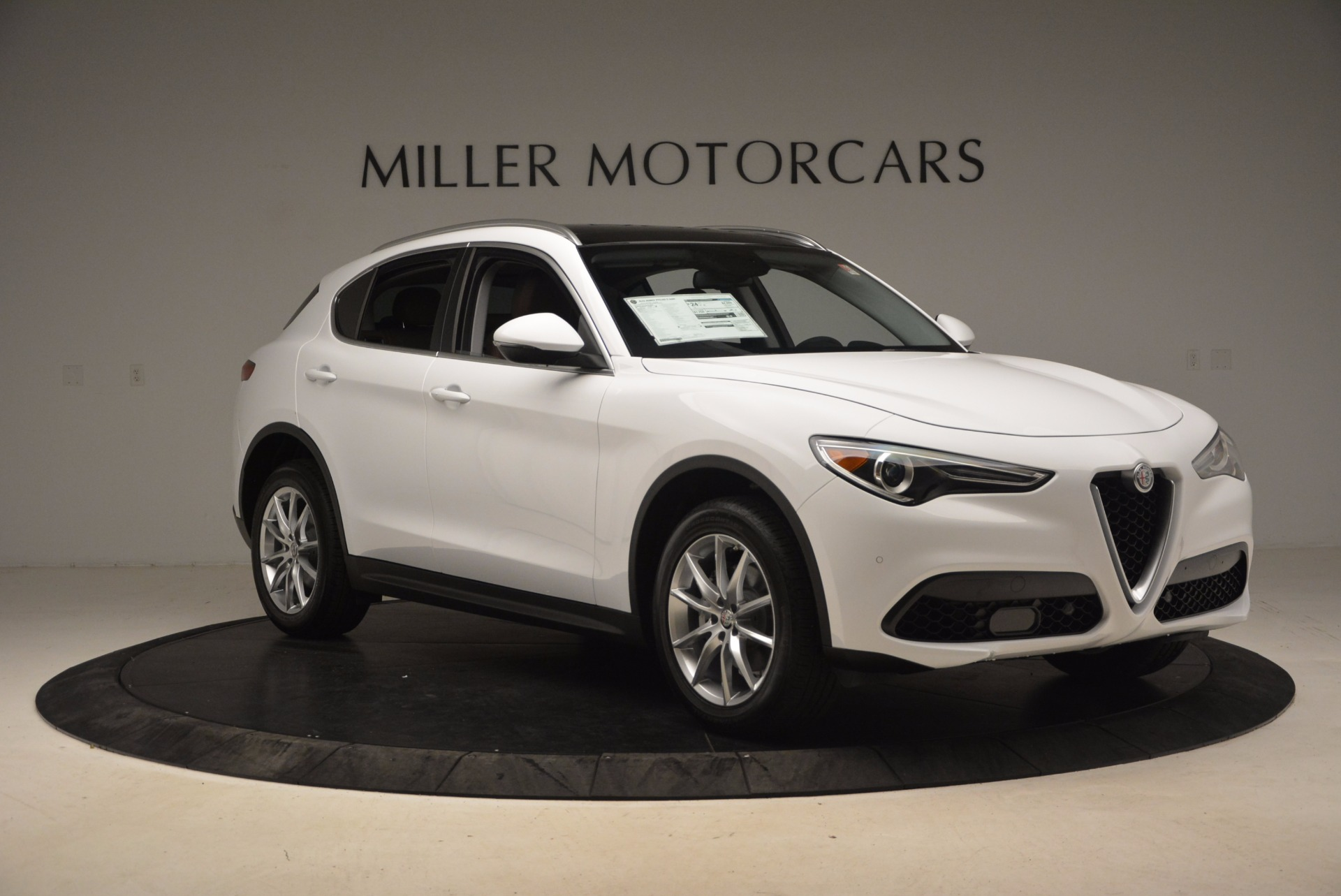 New 2018 Alfa Romeo Stelvio Ti Q4 For Sale In Westport, CT 1607_p11