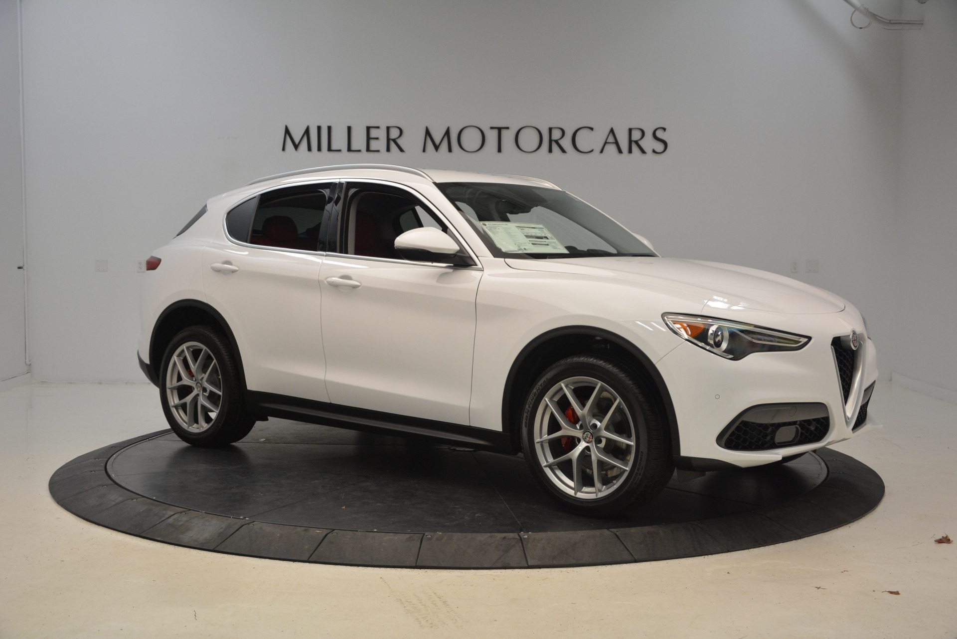 New 2018 Alfa Romeo Stelvio Q4 For Sale In Westport, CT 1610_p10