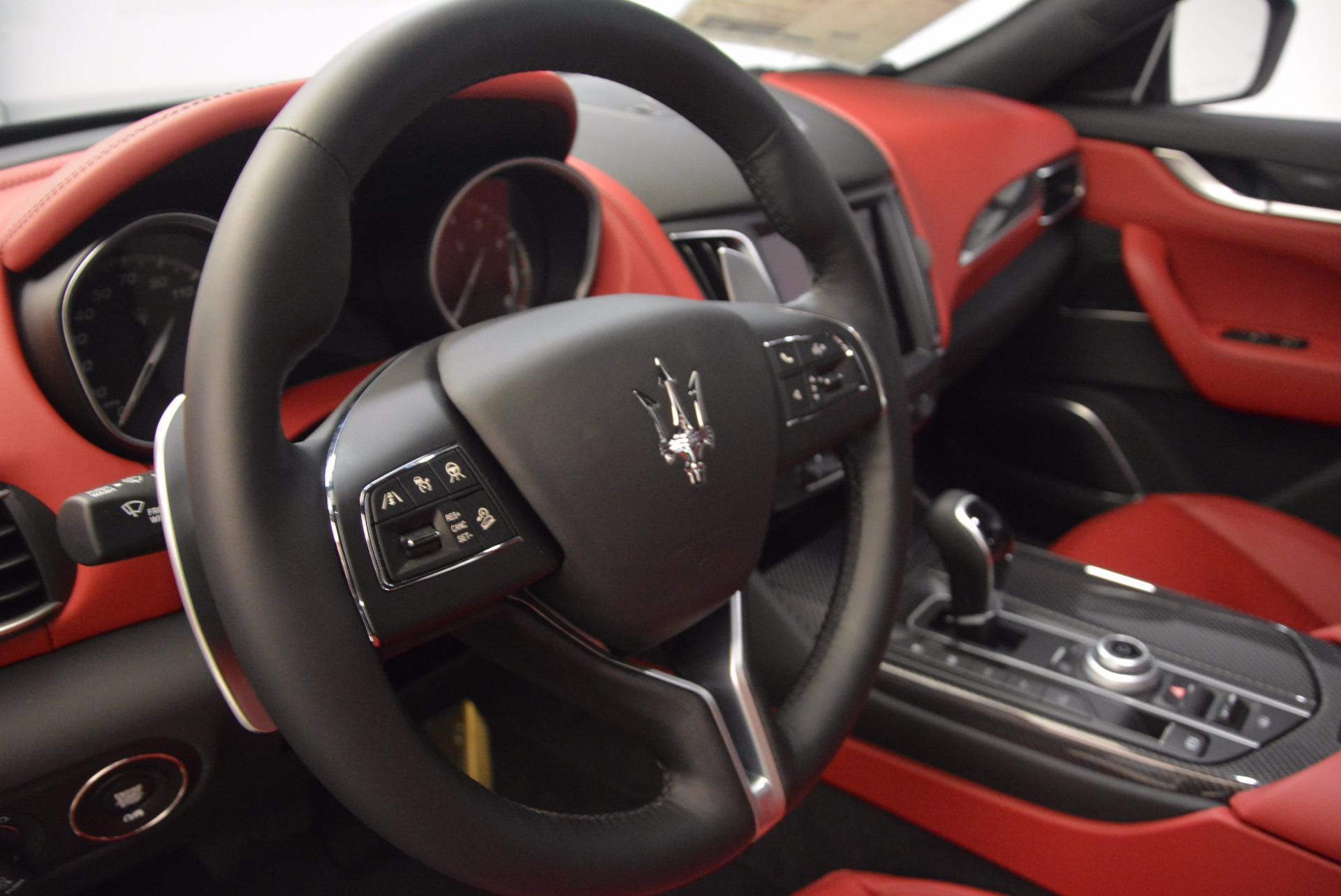 New 2018 Maserati Levante S Q4 GranLusso For Sale In Westport, CT 1613_p14