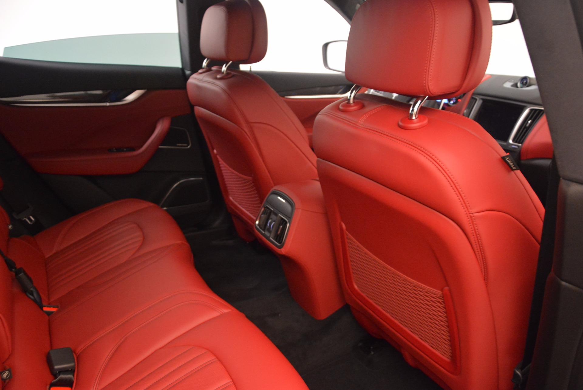 New 2018 Maserati Levante S Q4 GranLusso For Sale In Westport, CT 1613_p24