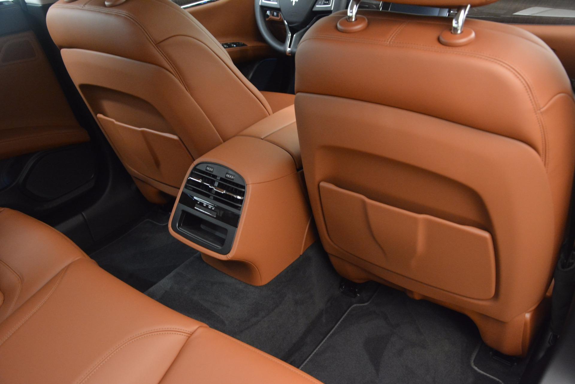 New 2018 Maserati Quattroporte S Q4 GranLusso For Sale In Westport, CT 1614_p22