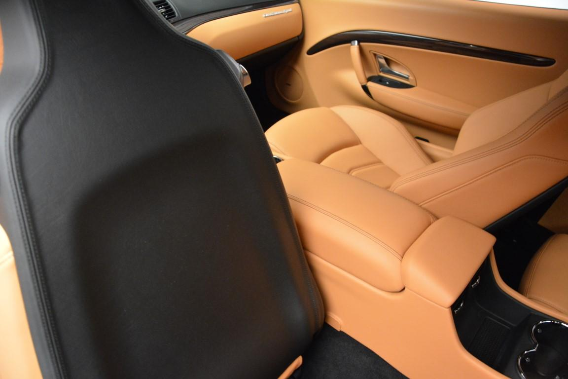 New 2016 Maserati GranTurismo Sport For Sale In Westport, CT 162_p19