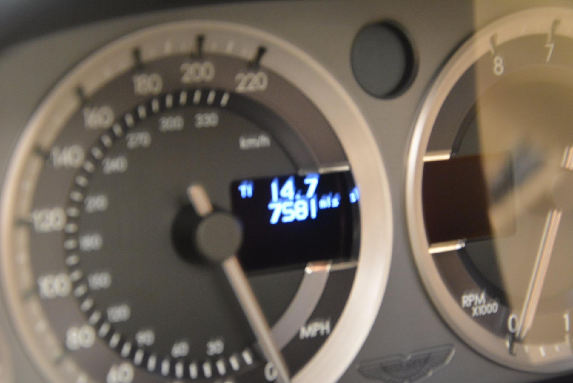 Used 2014 Aston Martin V8 Vantage Roadster For Sale In Westport, CT 1623_p24