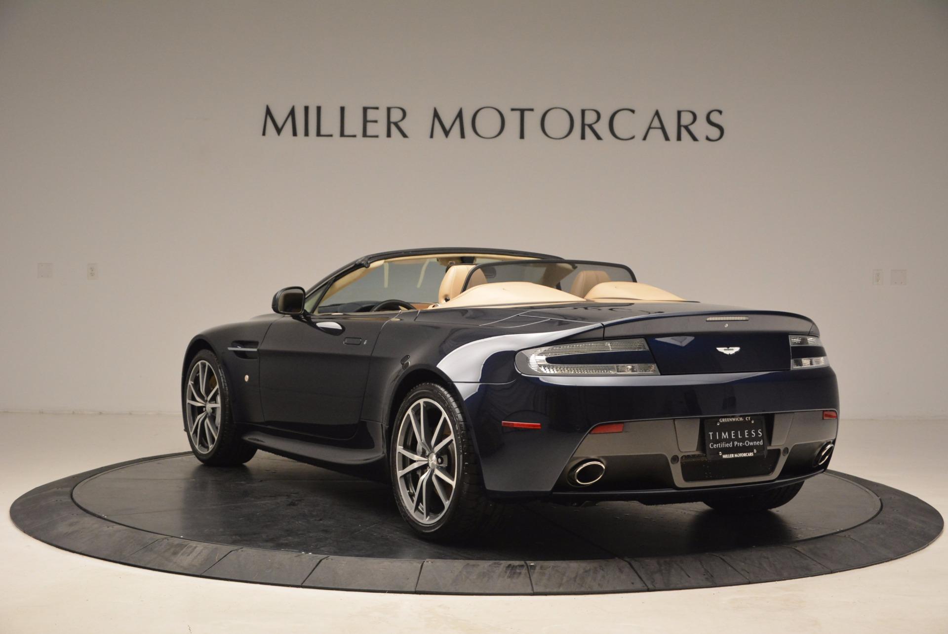Used 2014 Aston Martin V8 Vantage Roadster For Sale In Westport, CT 1623_p5