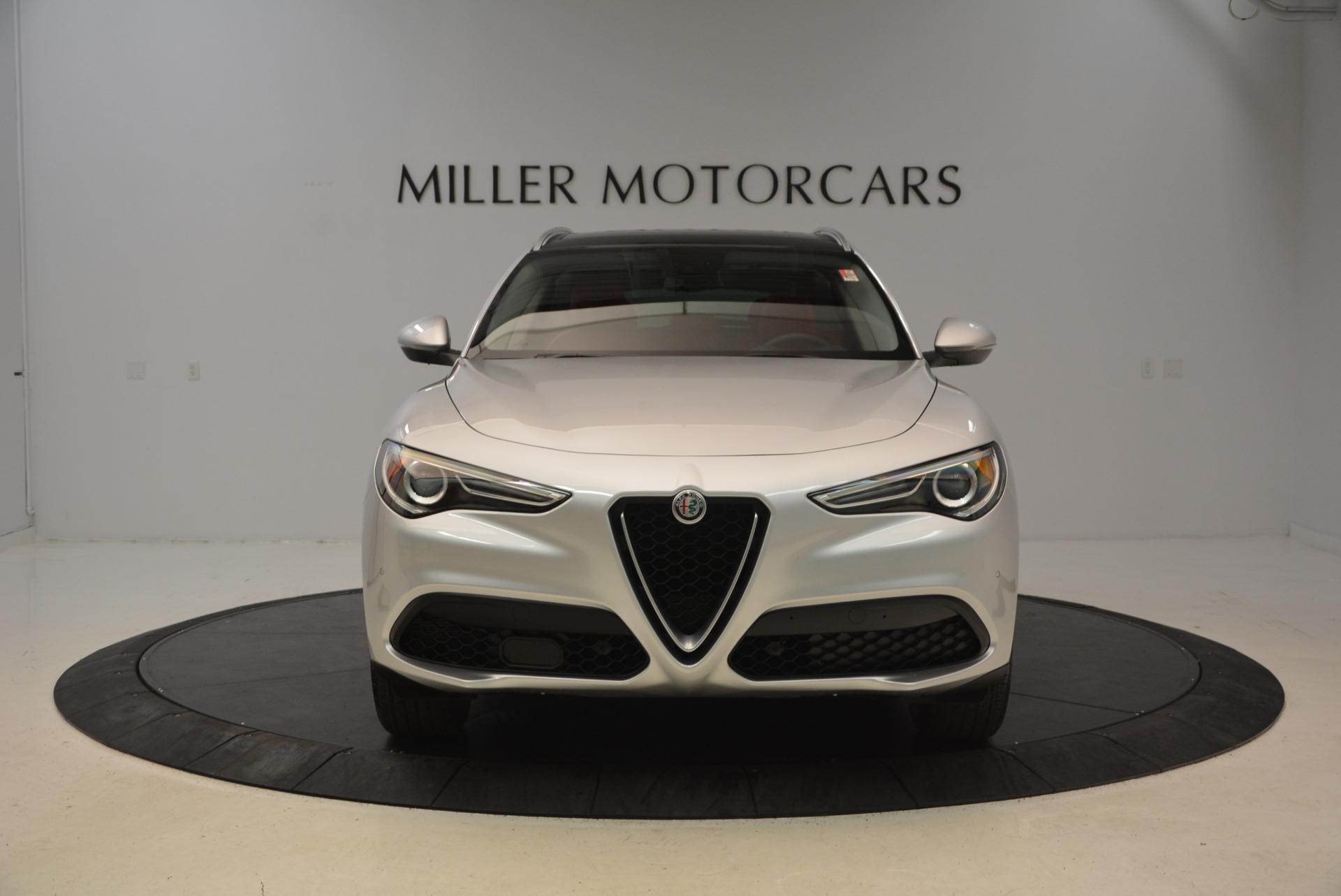 New 2018 Alfa Romeo Stelvio Q4 For Sale In Westport, CT 1624_p12