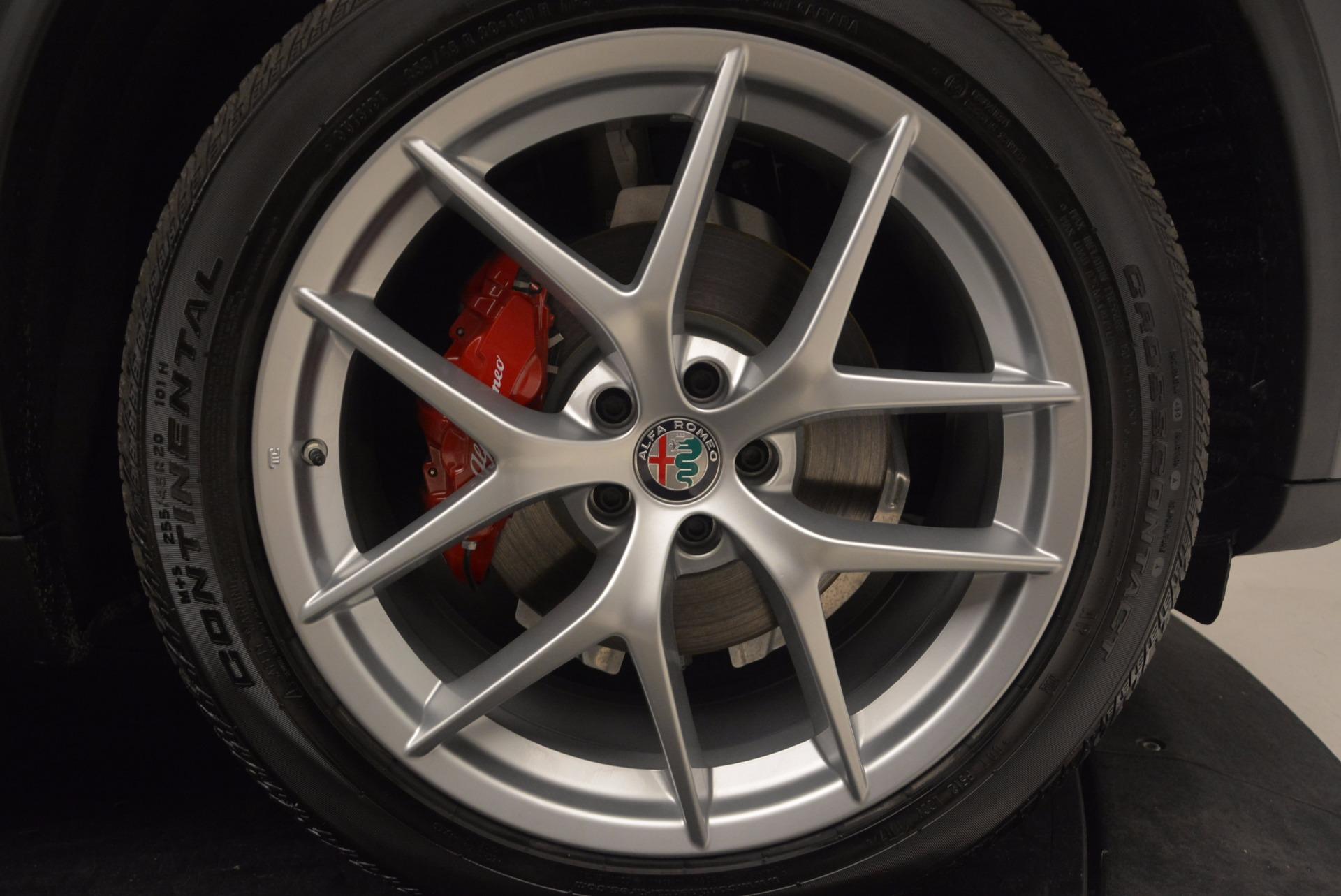 New 2018 Alfa Romeo Stelvio Q4 For Sale In Westport, CT 1625_p25