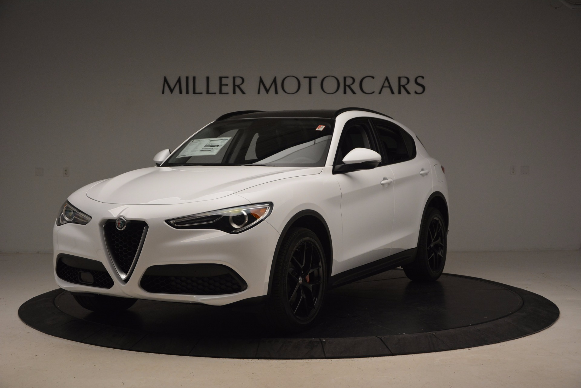 New 2018 Alfa Romeo Stelvio Sport Q4 For Sale In Westport, CT 1627_main